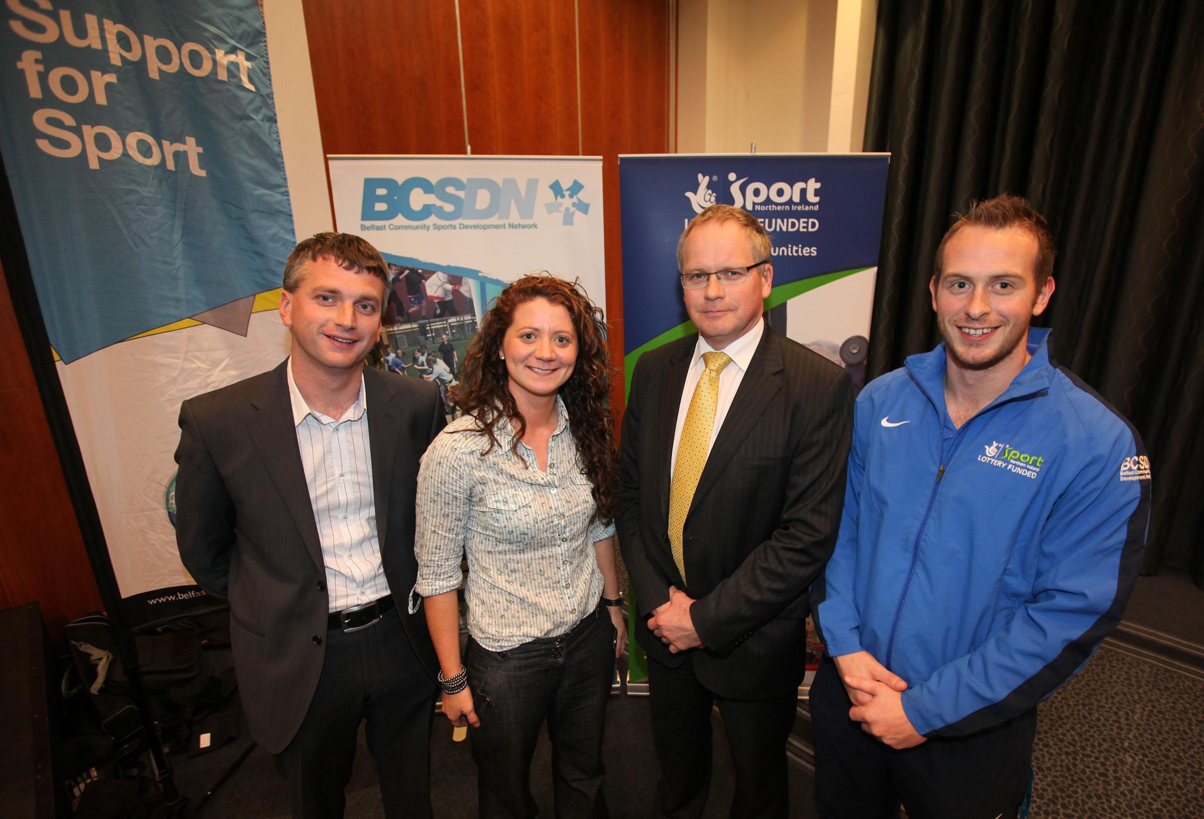 Sports volunteers get jobs through 'Sheer Skill'