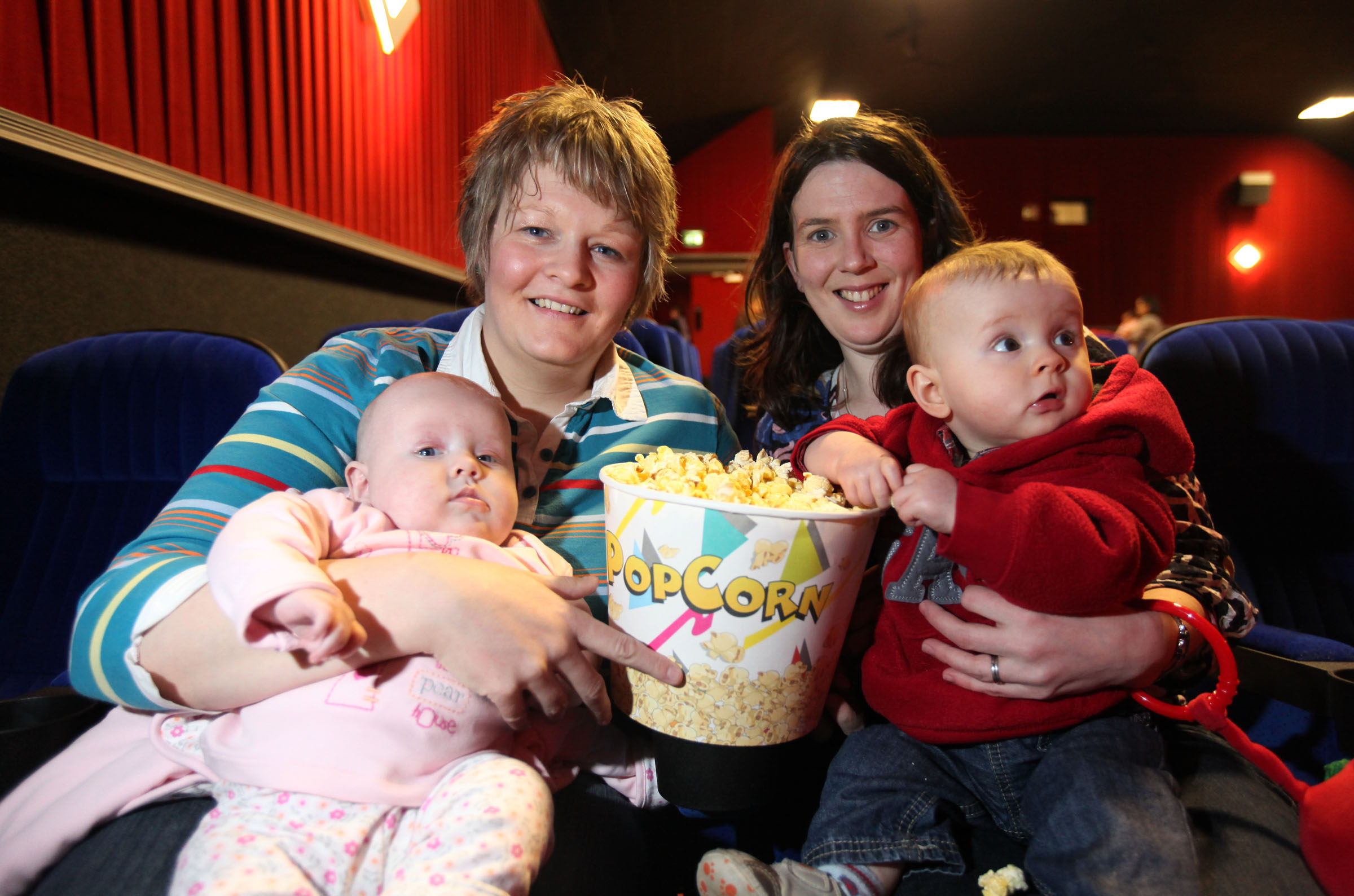 Baby's day out at Movie House