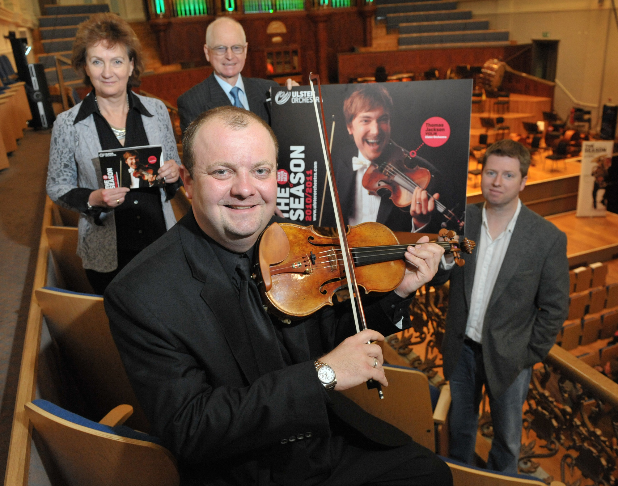Belfast virtuosos feature in Ulster Orchestra's new season