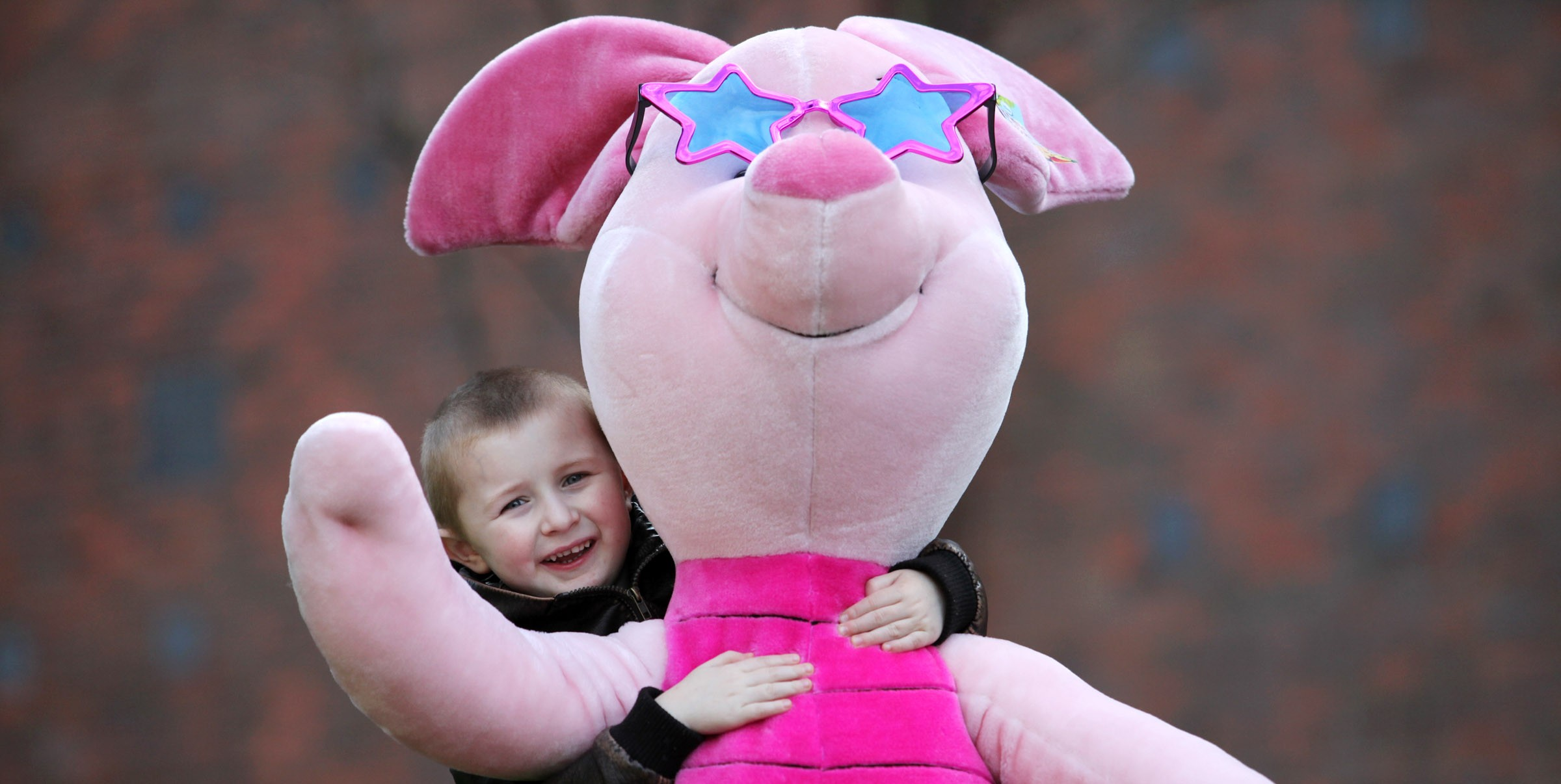 Oh pooh! Winnie's big day at Dublin Road