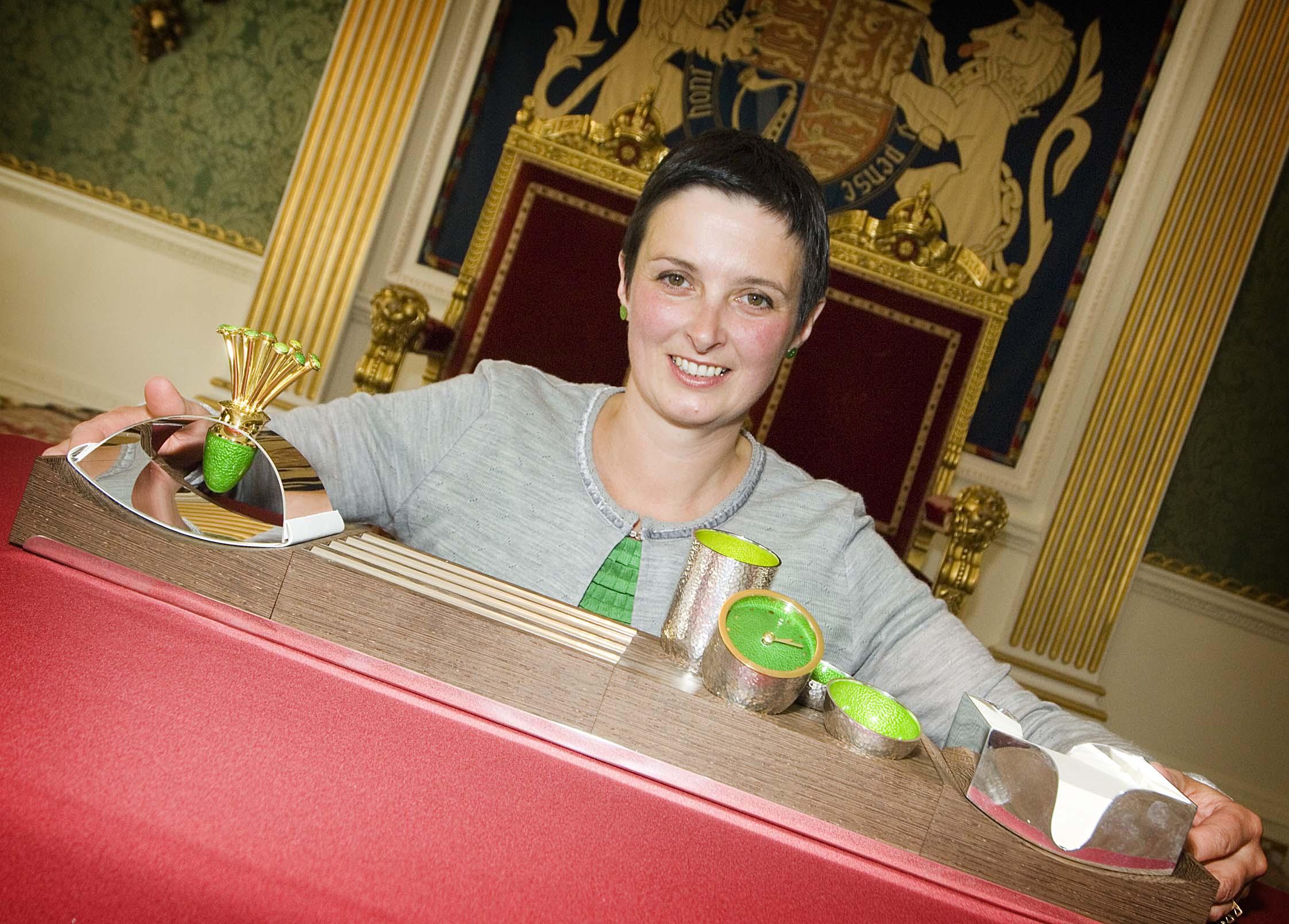 Cara's work set to adorn PM's desk at Number Ten