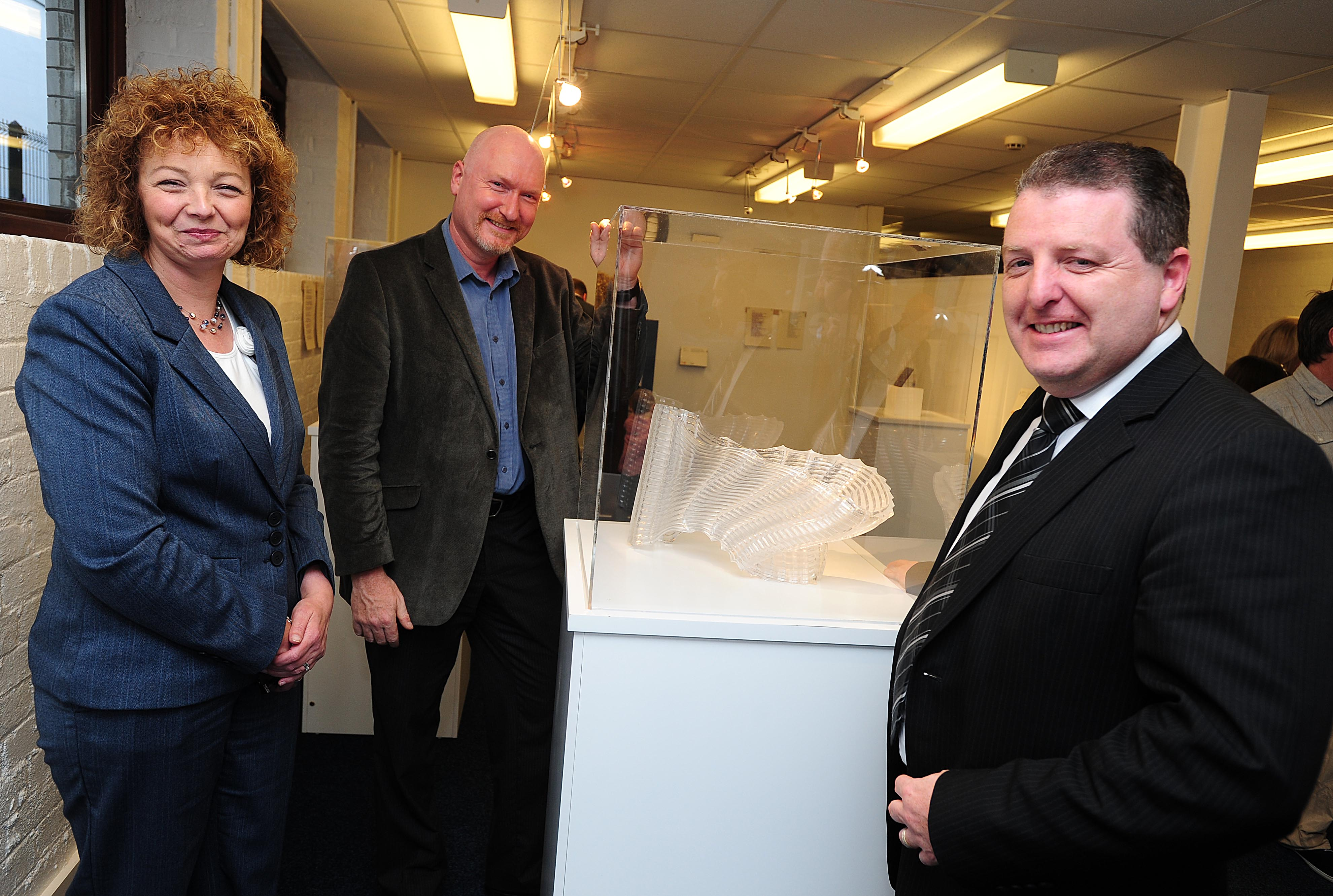 Culture Minister drops in for 'chat' at Craft NI