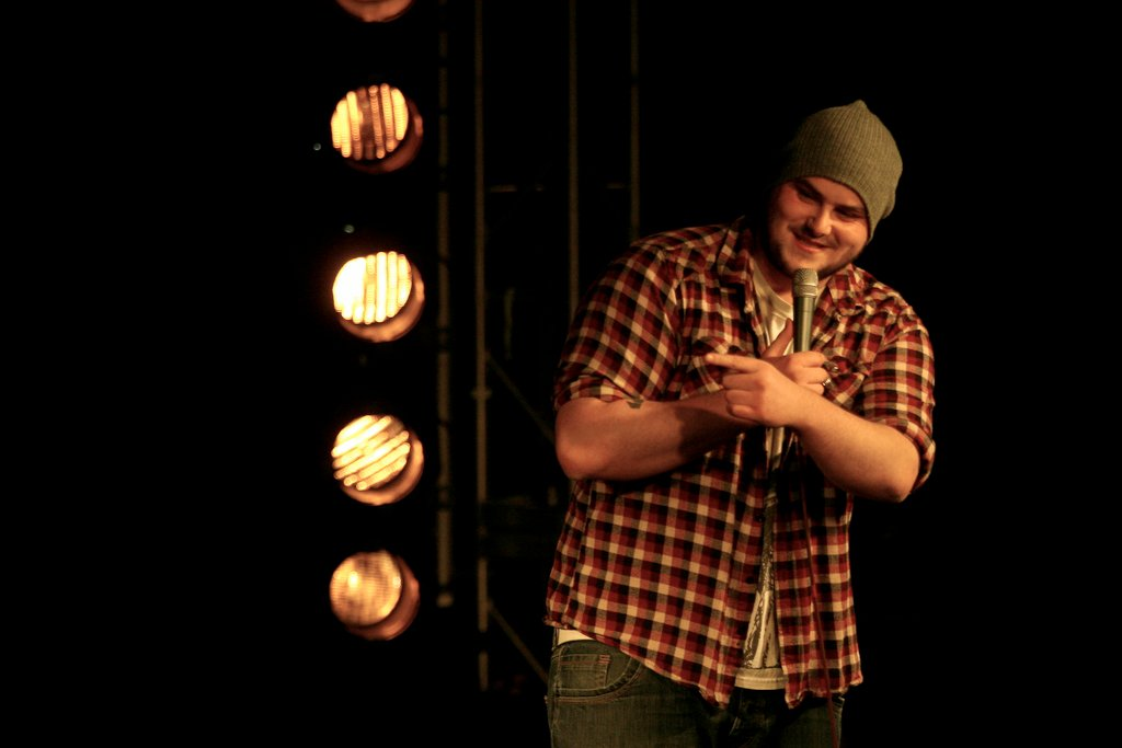 Colin blends stand-up with Youtube success