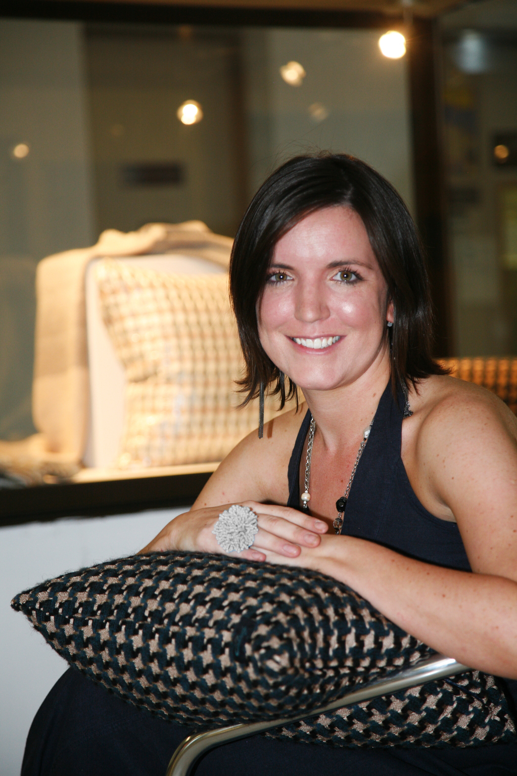 Judith takes to the streets to revive tradition of weaving