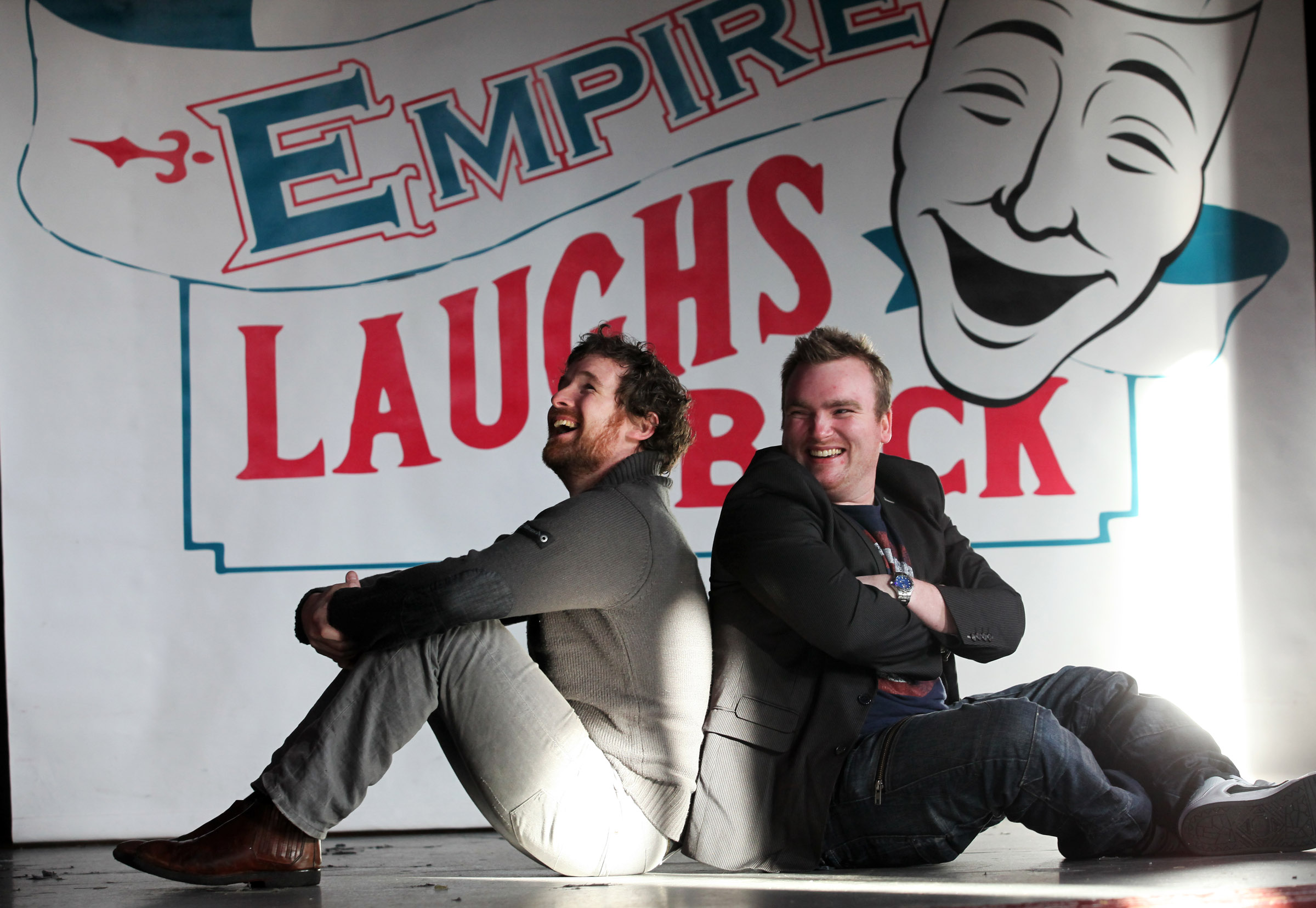 Nothing 'comperes' to Empire – say new princes of comedy