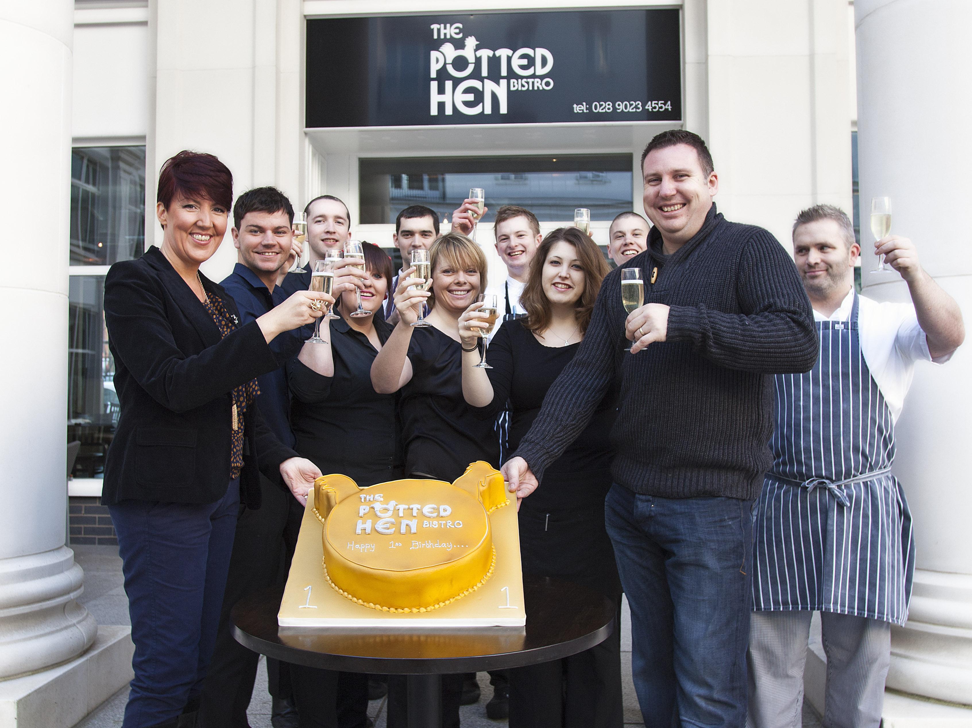 'Hen Party' as Belfast bistro celebrates first anniversary