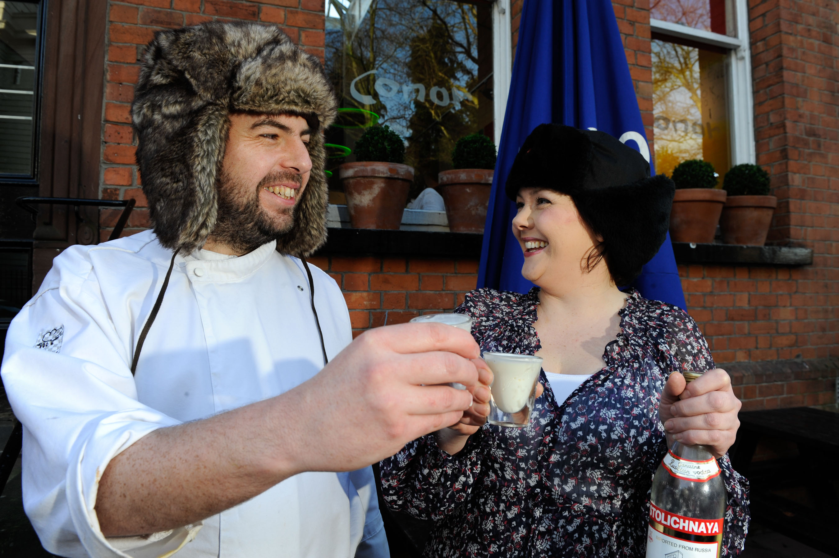 The Russians are coming…to Conor Cafe