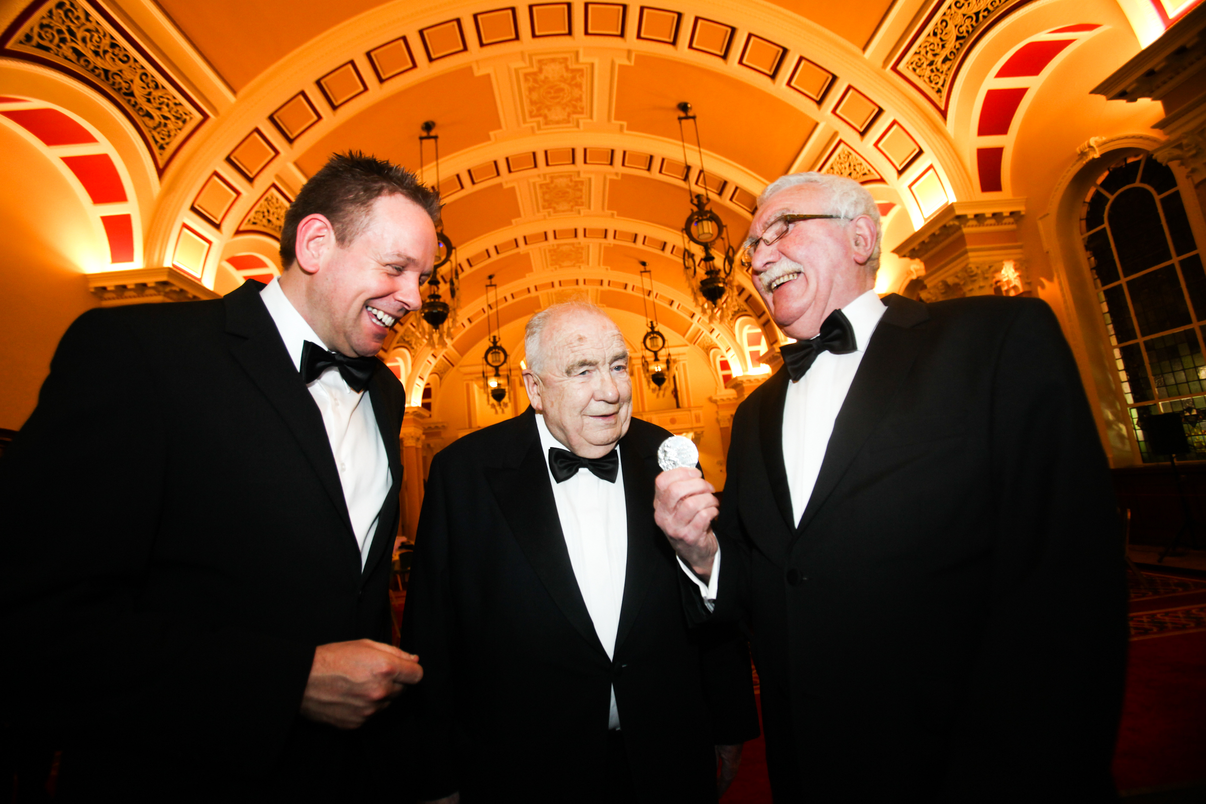 Northern Ireland's 'Mr Football' inducted into Belfast Sports Awards Hall of Fame