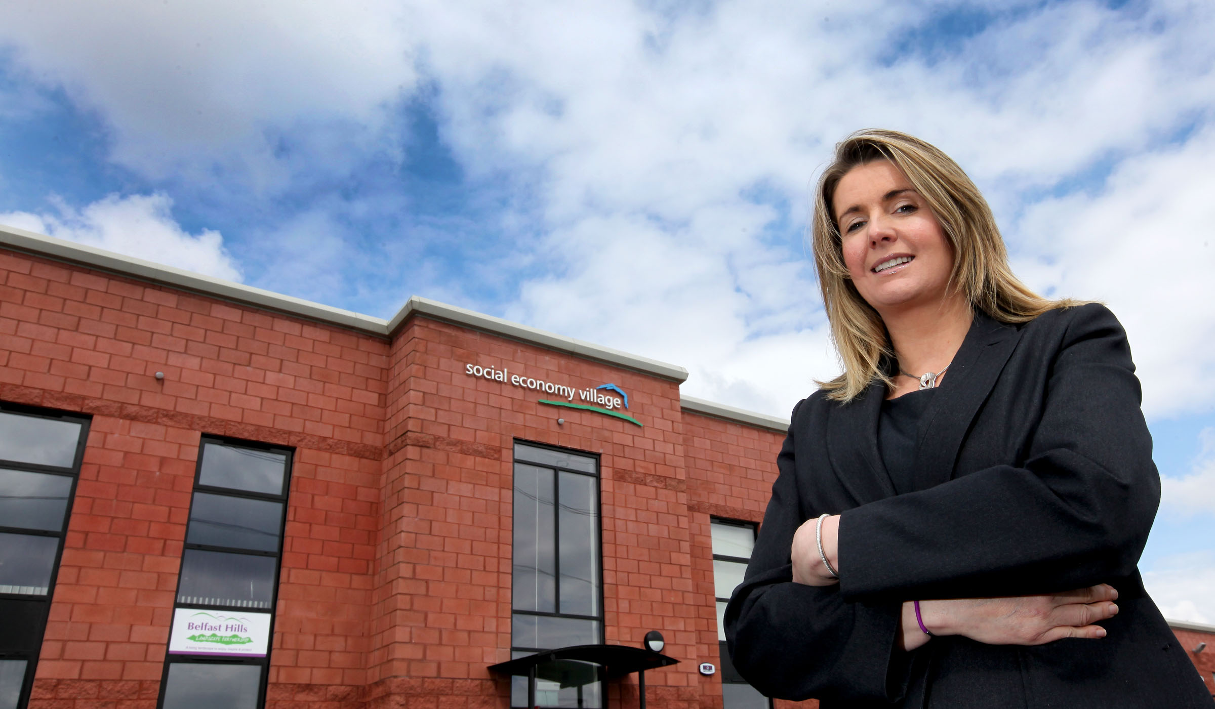 Enterprising Claire is first NI woman for Queen's Award