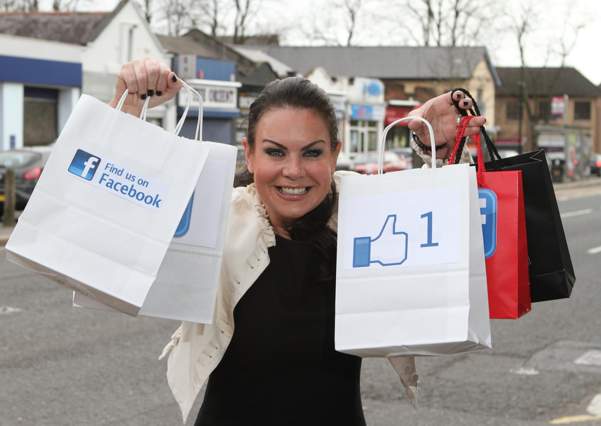 "Ballyhackamore customers ""like"" new Facebook Page"