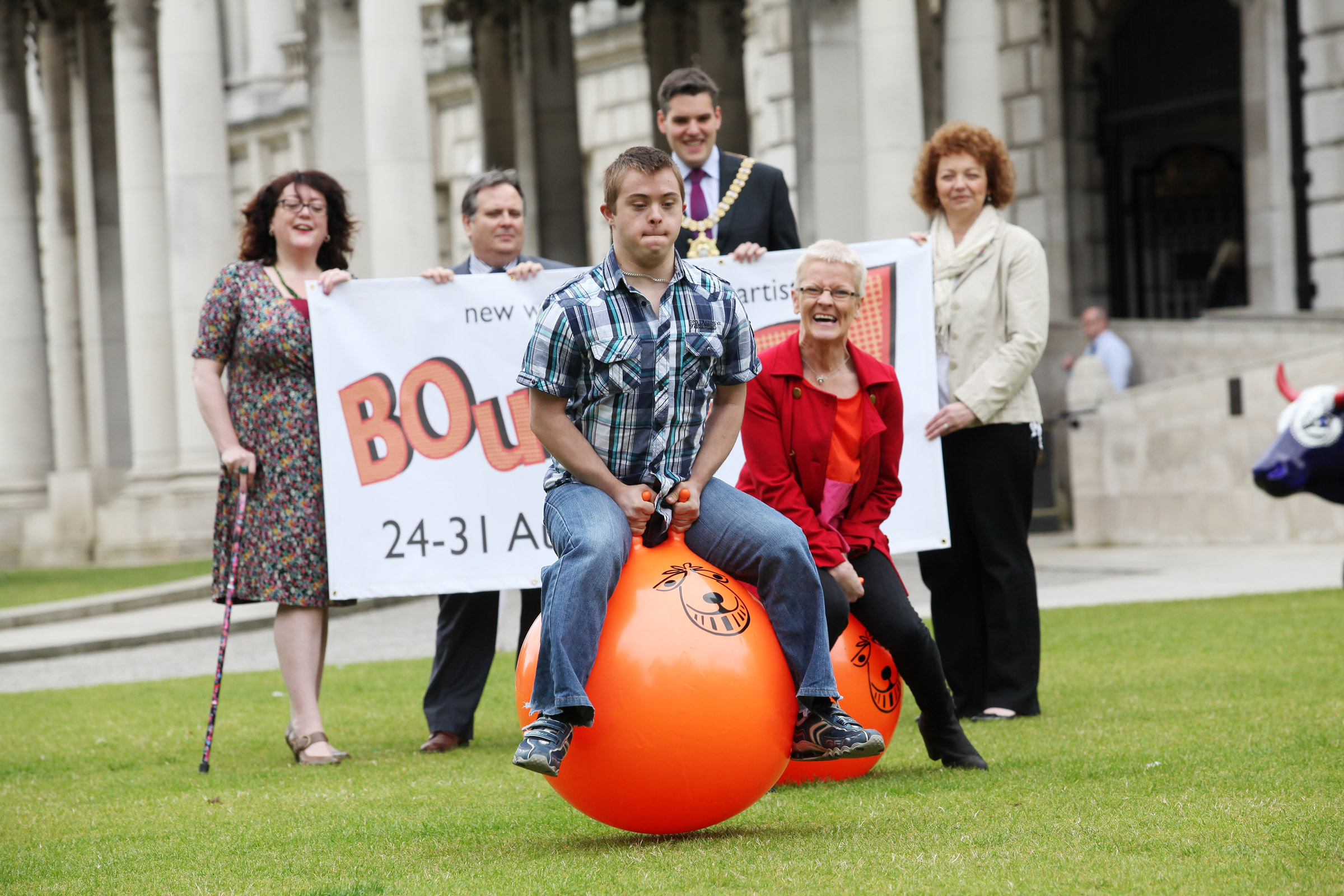 Bouncing for Joy as ADF unveils NI's first Disability and Deaf Arts festival