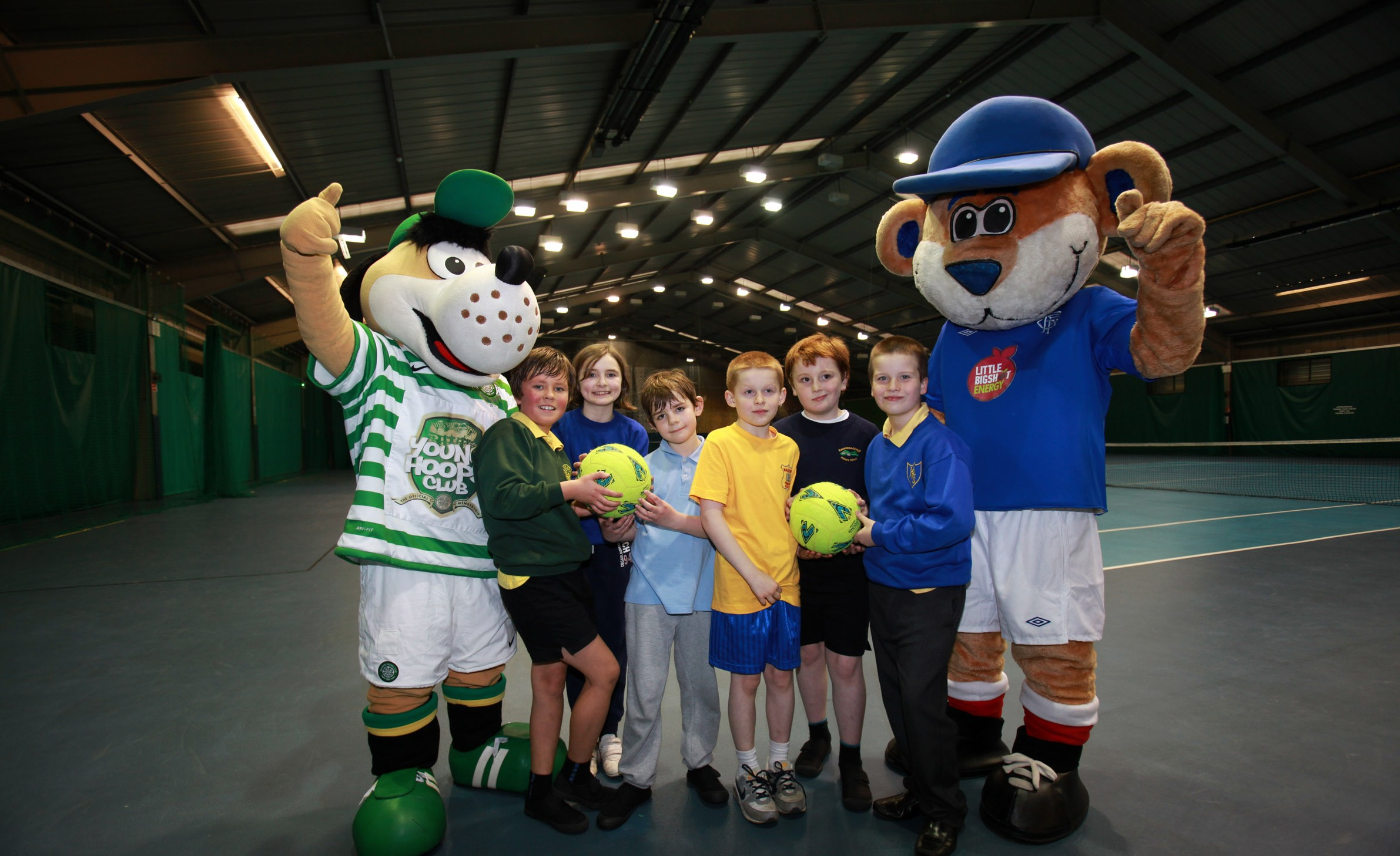 Fair play as Old Firm initiative helps 2,000 young people