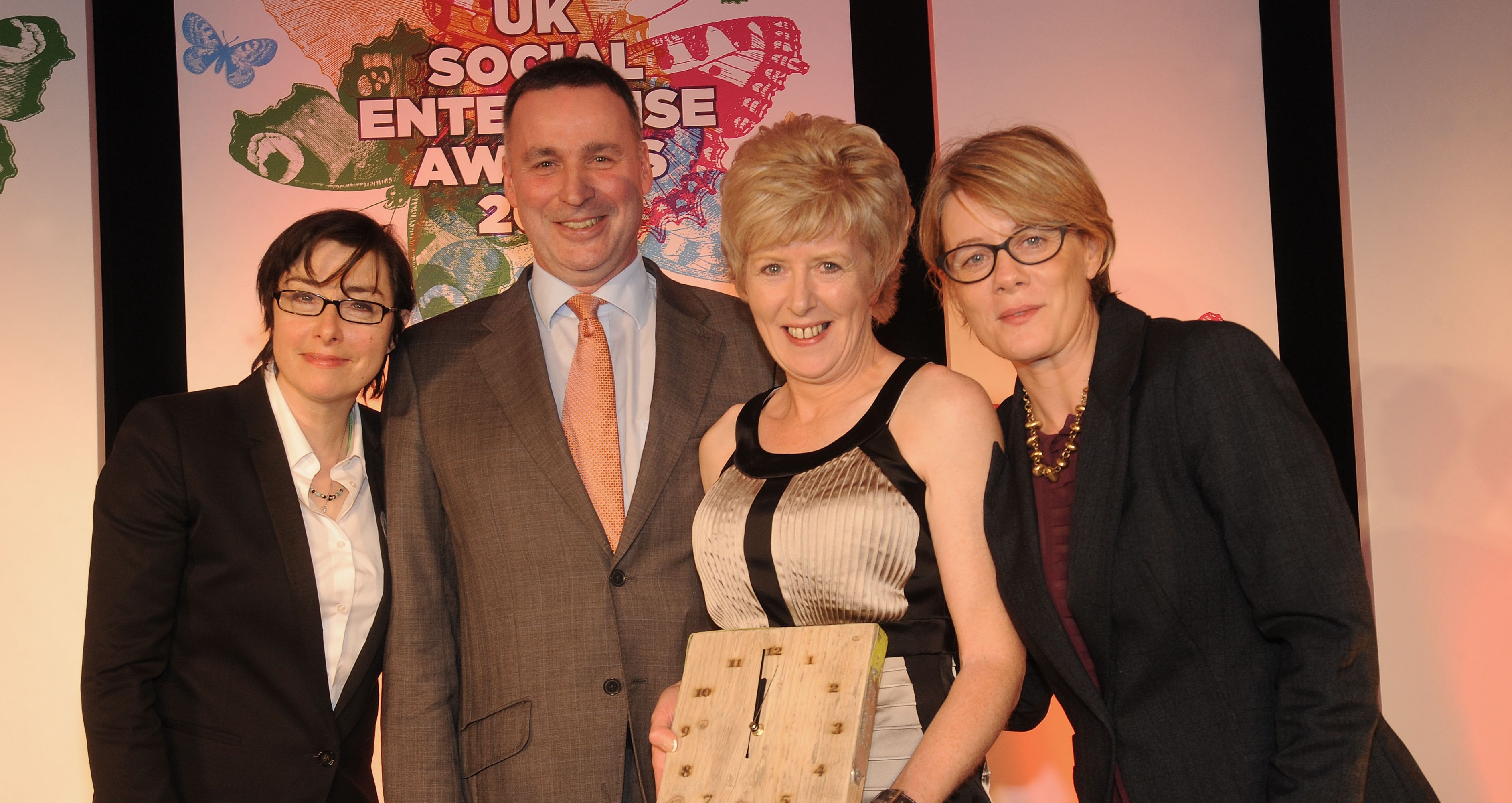 Leading Belfast Charity wins UK Social Enterprise of the Year