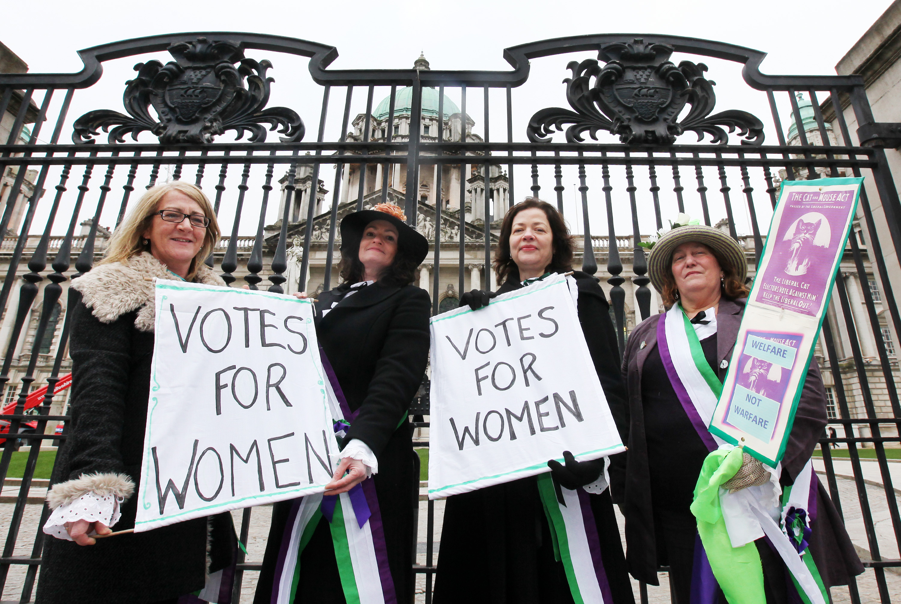 International Women's Day celebrates centenary of Suffragette struggle for rights
