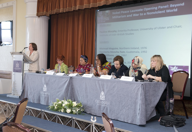 Women Nobel Laureates tell G8: 'Redirect Military Spending for Future Peace'