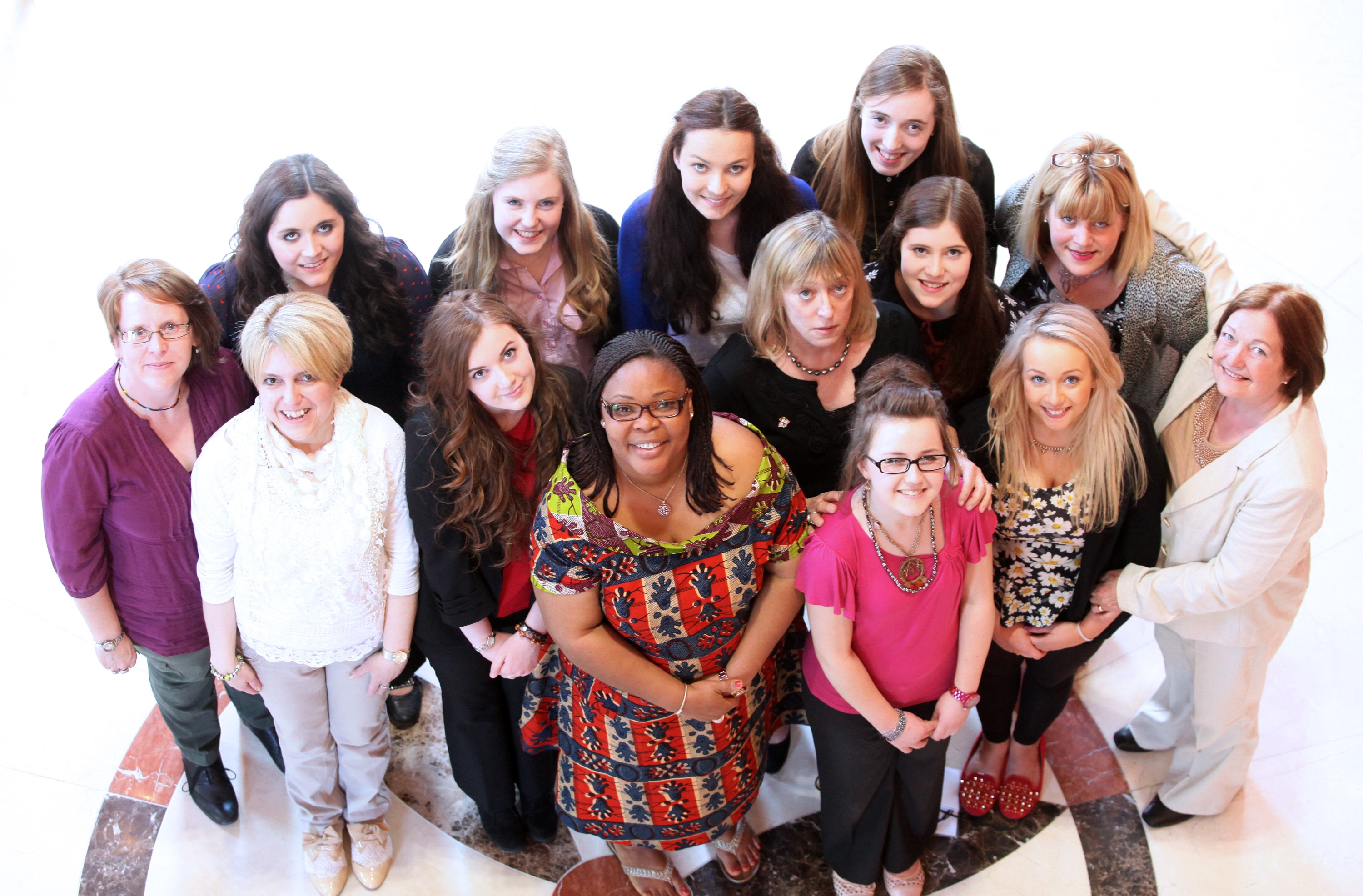 Young women follow in the footsteps of the Nobel laureates