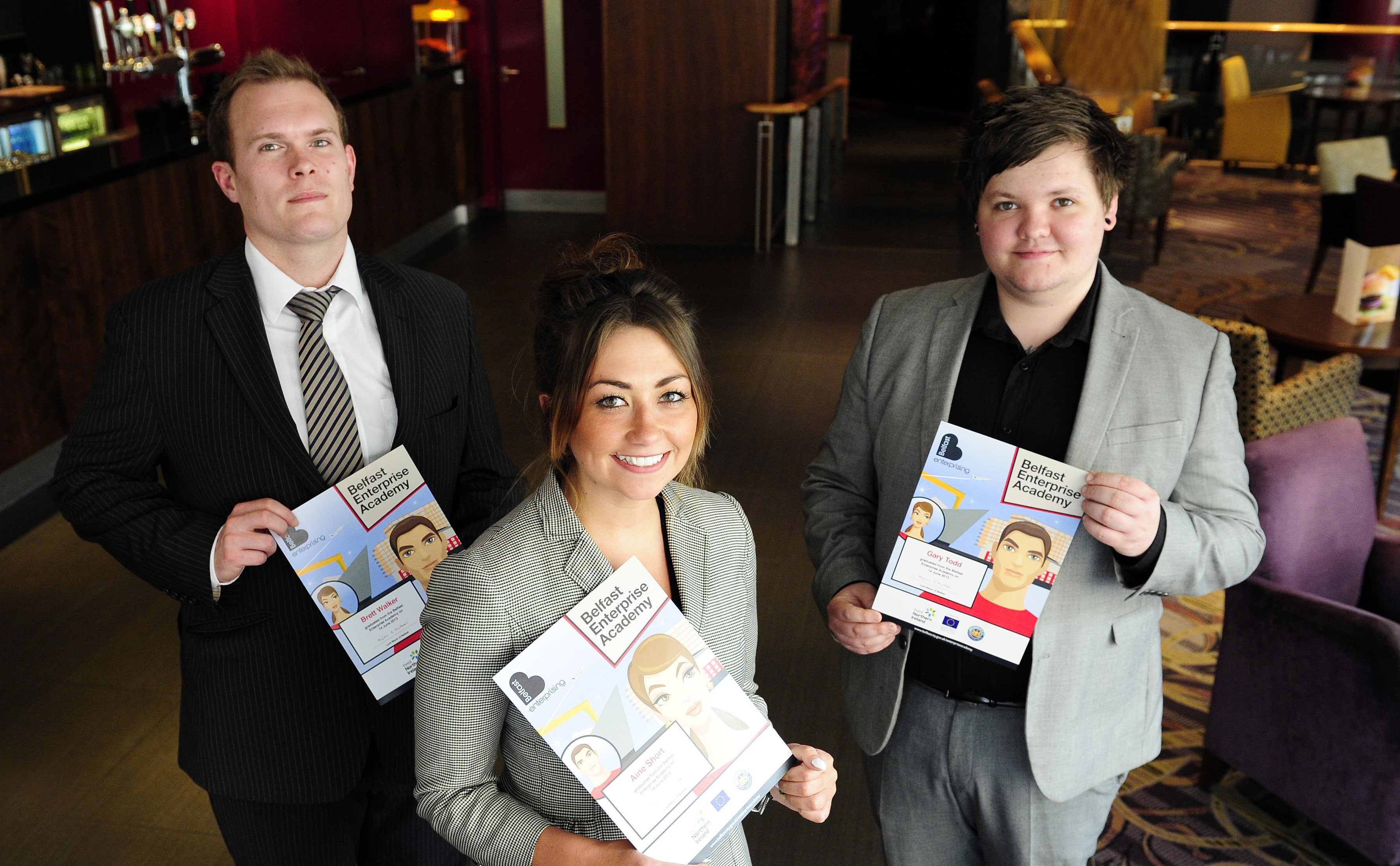 Belfast's future entrepreneurs pitch their ideas to panel of business experts