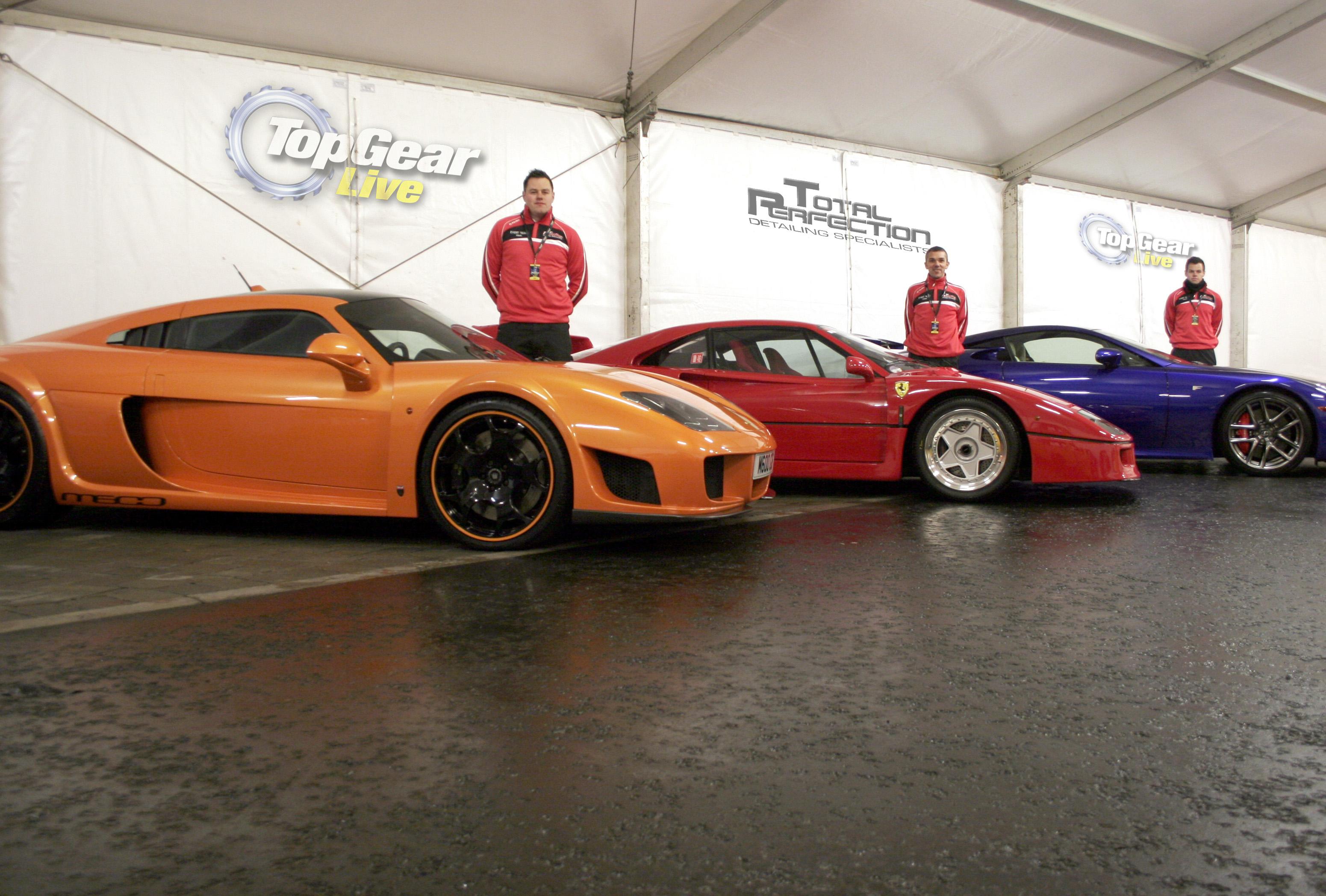 NI company adds shine to Top Gear Live