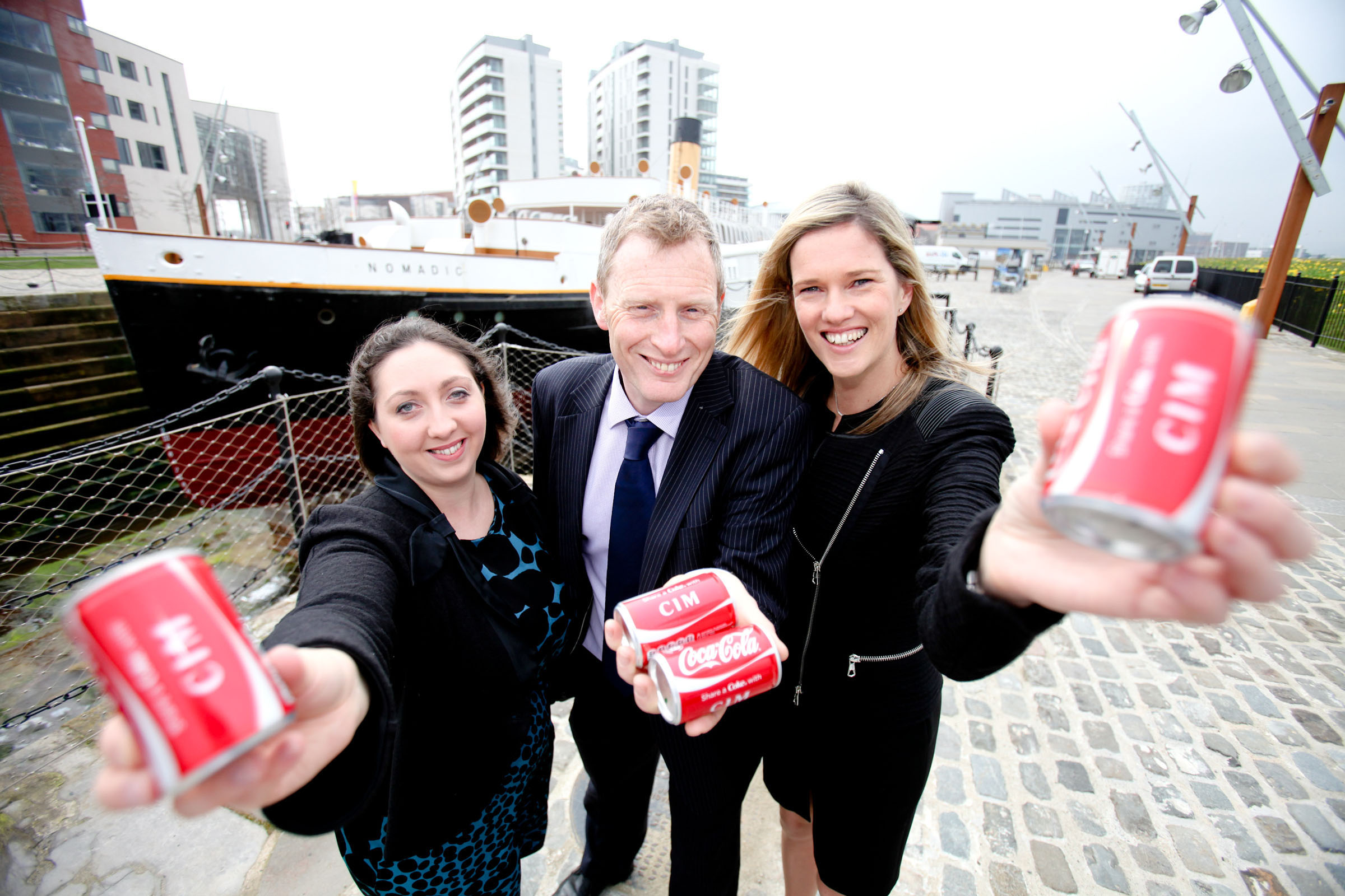 Marketing Head 'Shares a Coke' at CIM Chair's Lunch