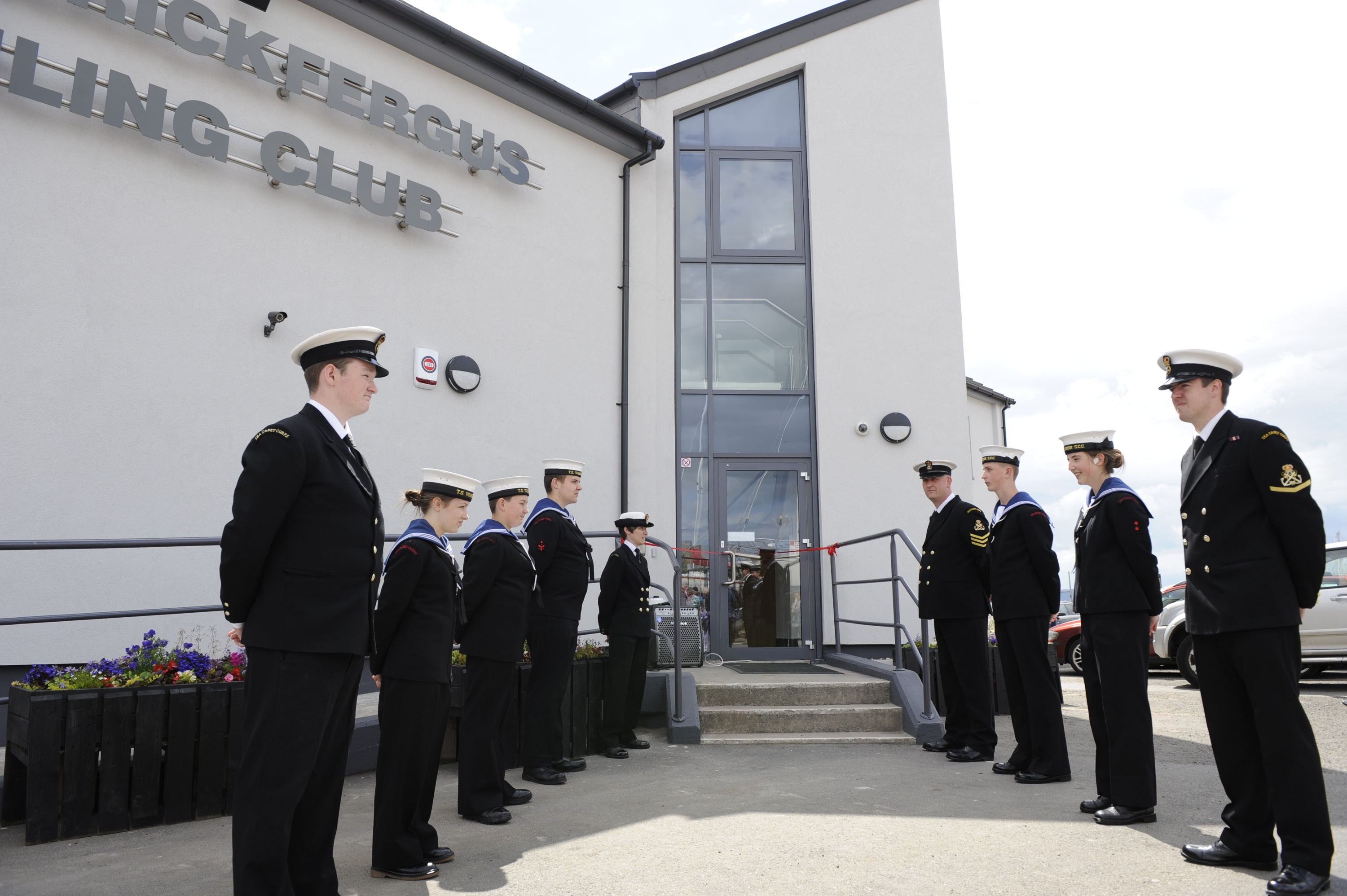 Carrick Sailing Club re-opens two years after devastating fire