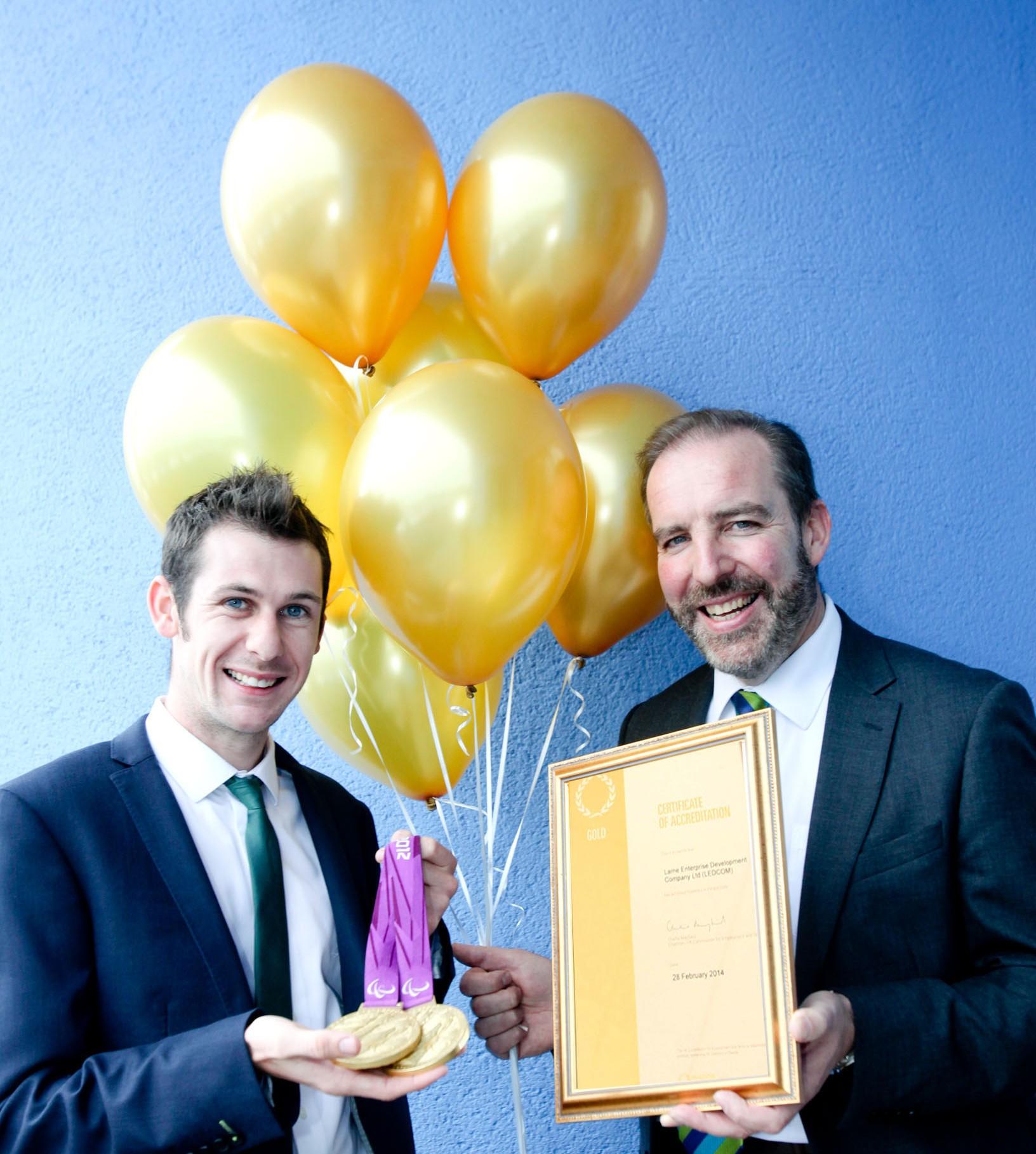 LEDCOM celebrates reaching the Gold Standard
