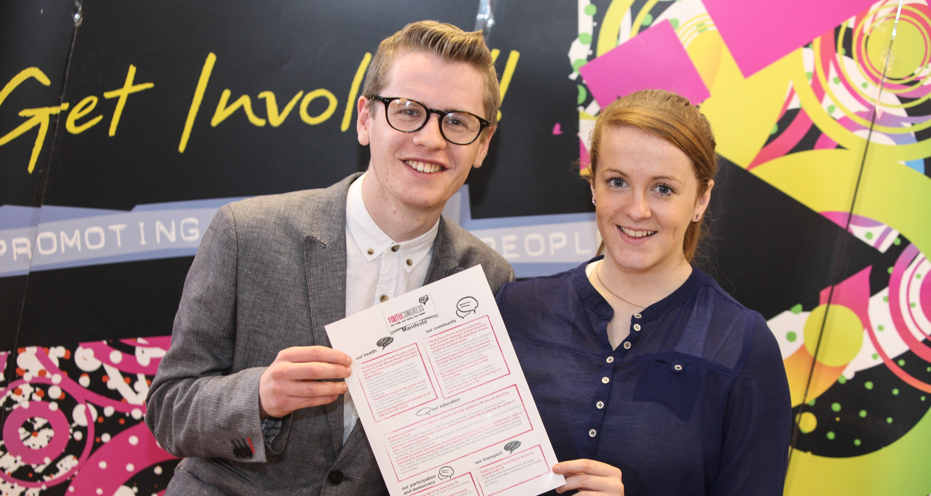 Young people demand change as NI Youth Congress launches first manifesto