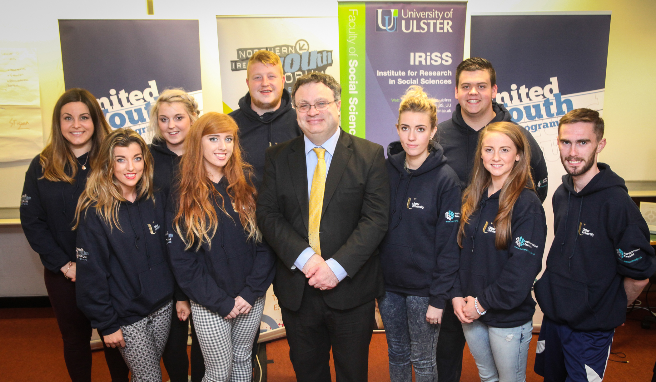 NIYF Unites For Change with Ulster University
