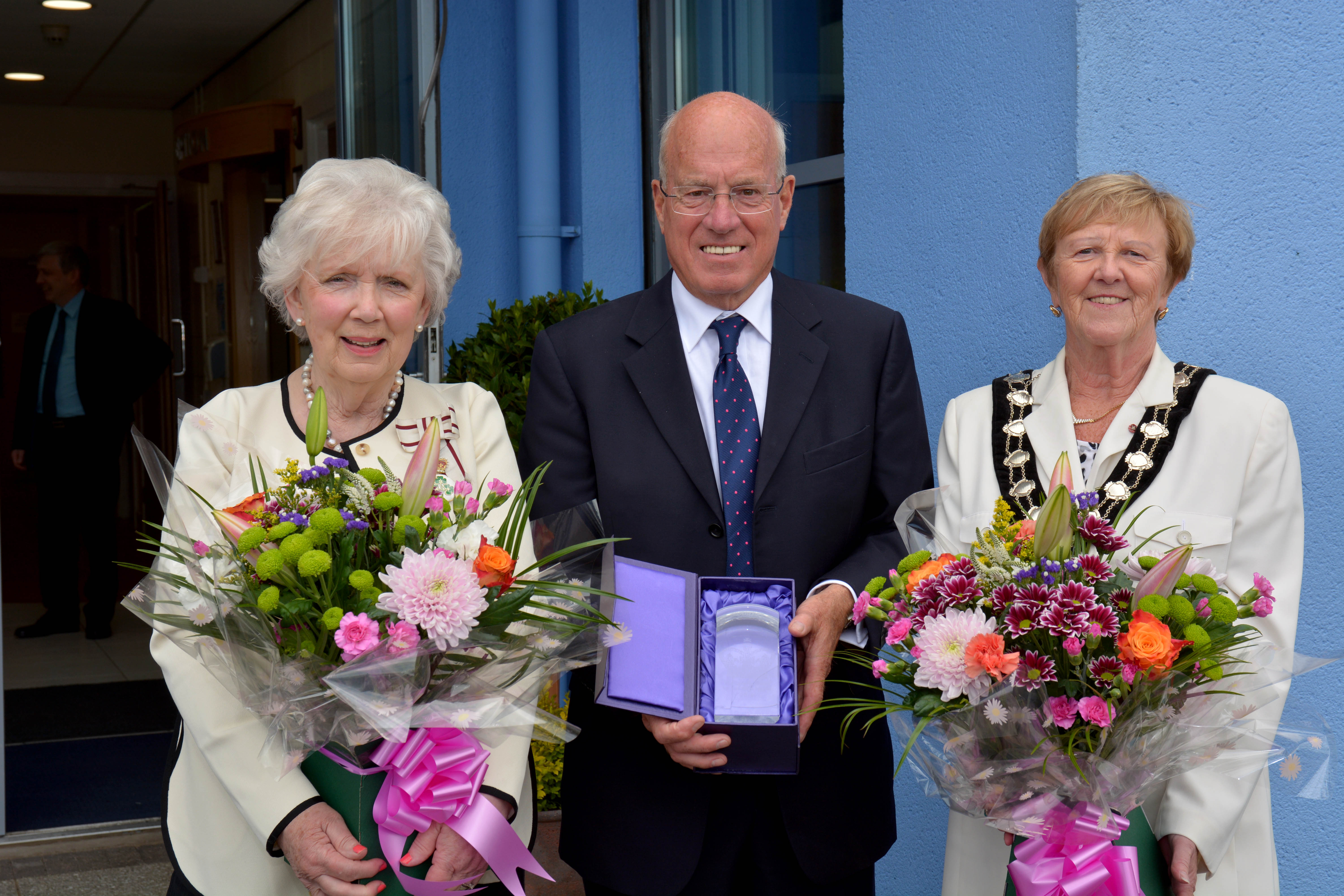LEDCOM presented with Queen's Award for Voluntary Service