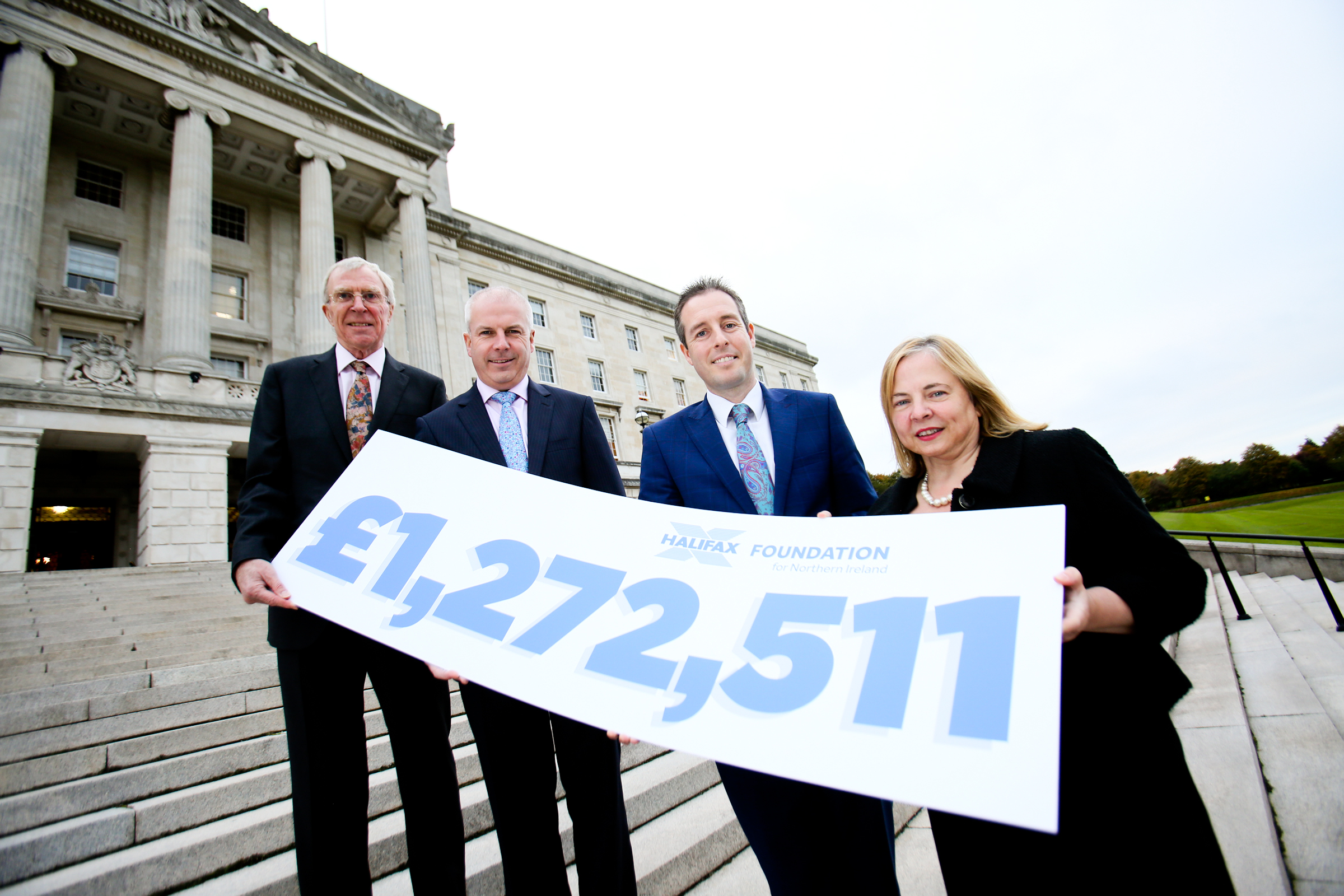 Halifax Foundation gives £1.3 million to NI charities