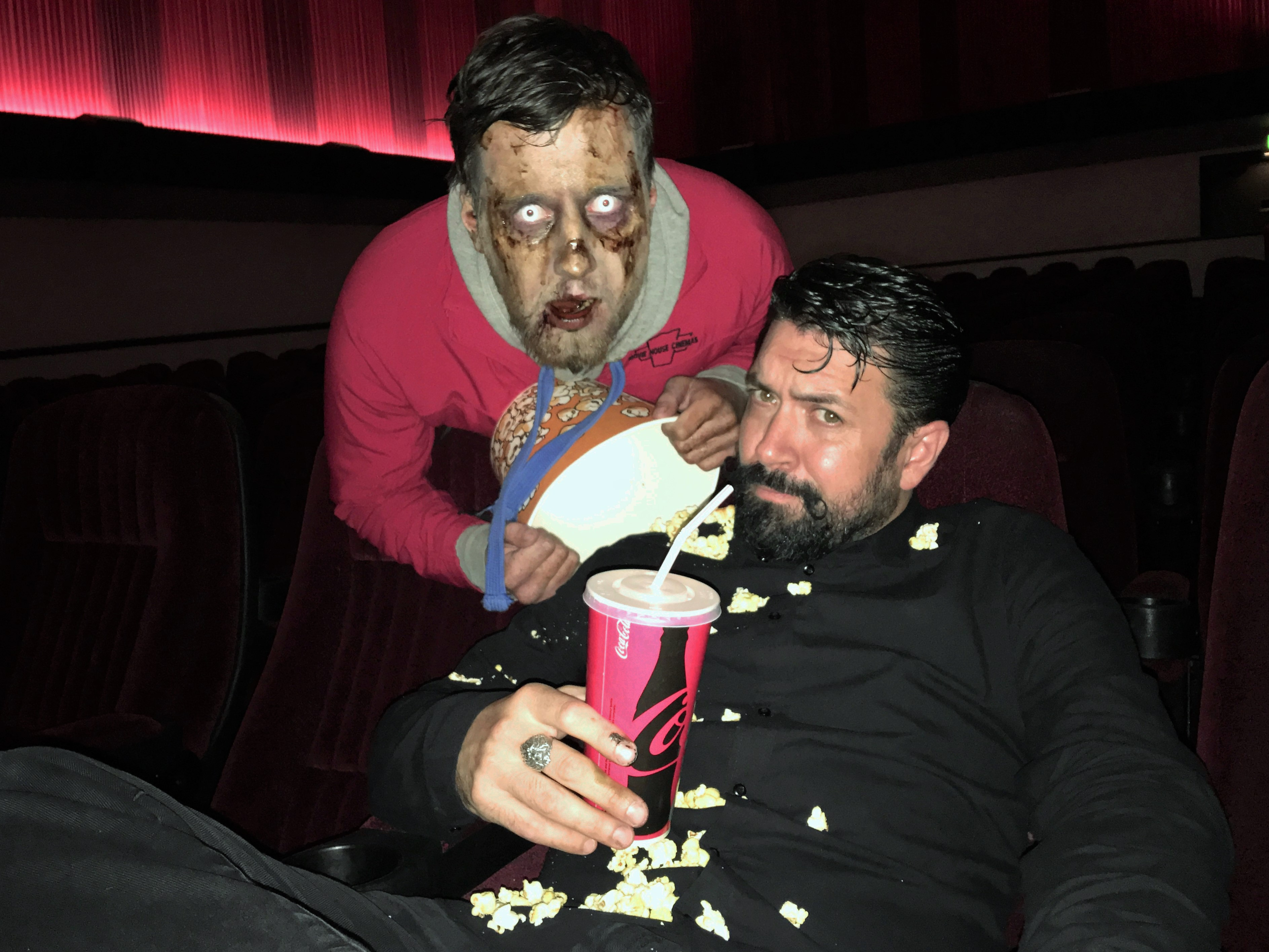 Hollywood make-up artist creates Belfast zombies for a day