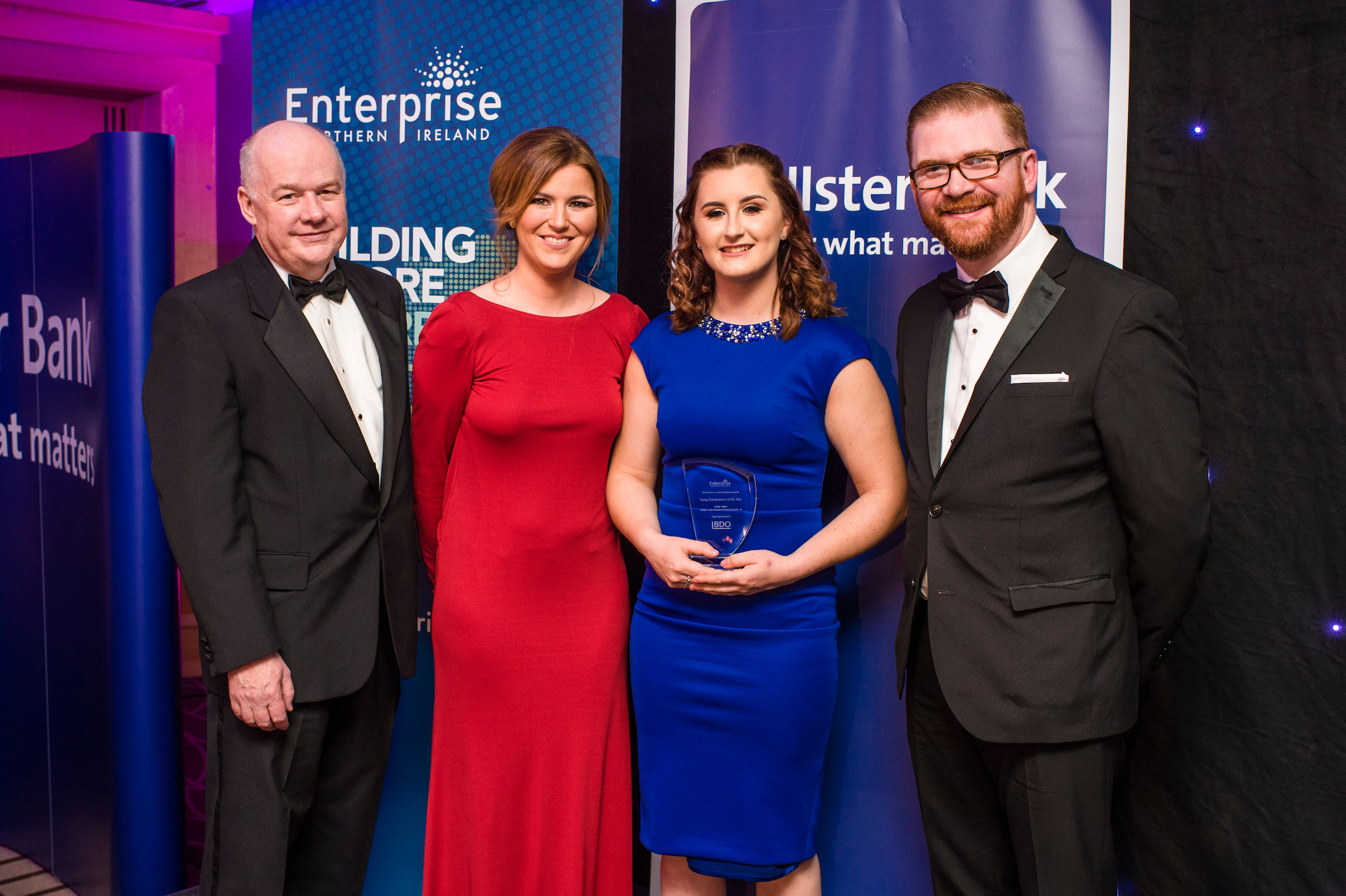 Horse physiotherapist wins NI Young Entrepreneur of the Year
