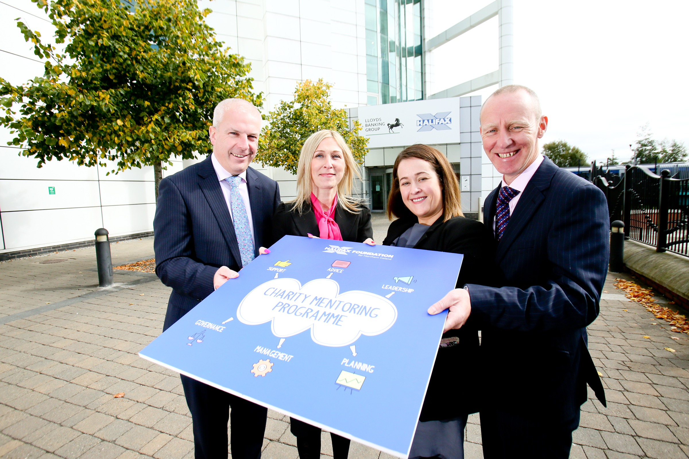 Senior bank colleagues to mentor NI charity leaders