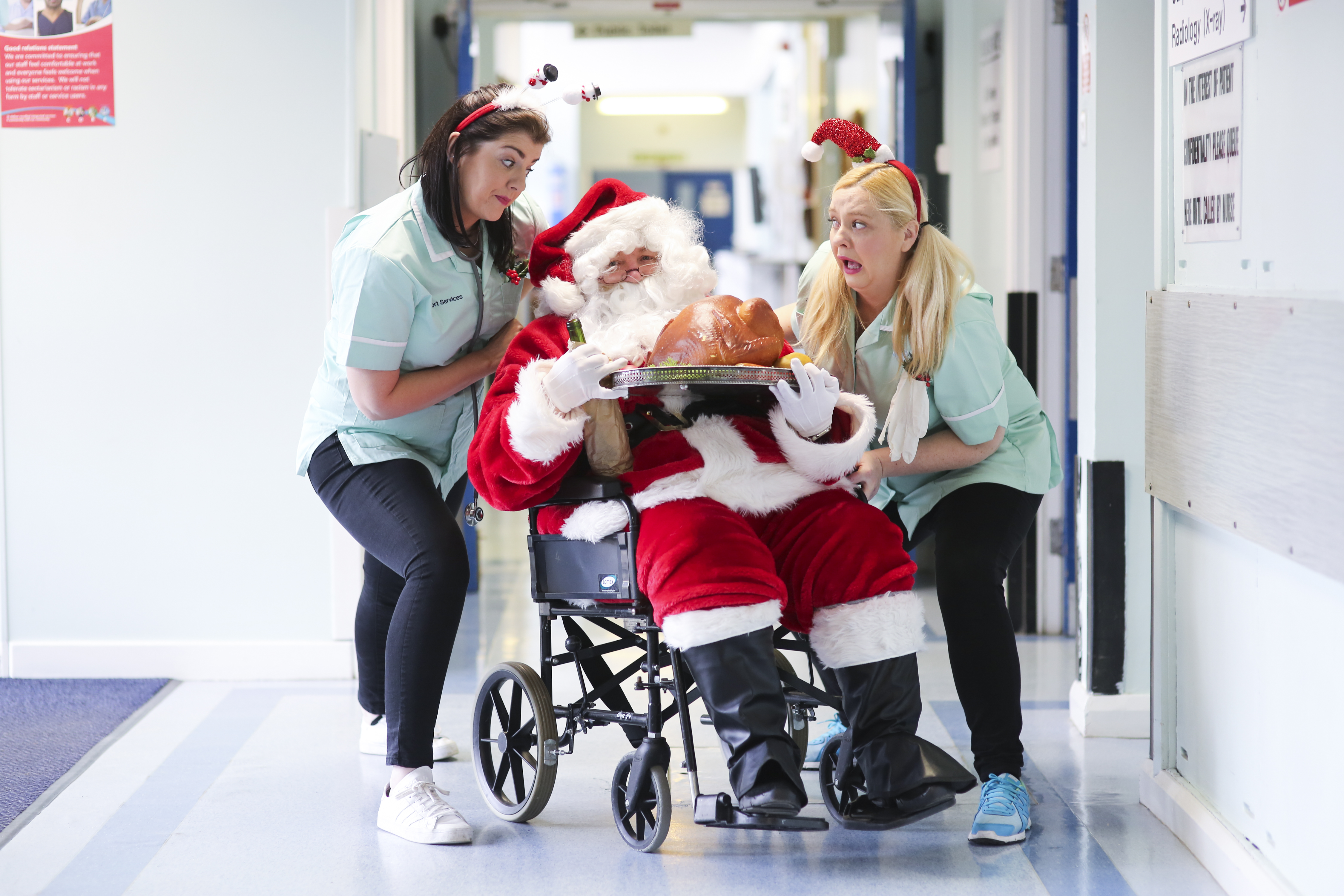 Hospital high jinks as Theatre at the Mill celebrates Christmas in Casualty
