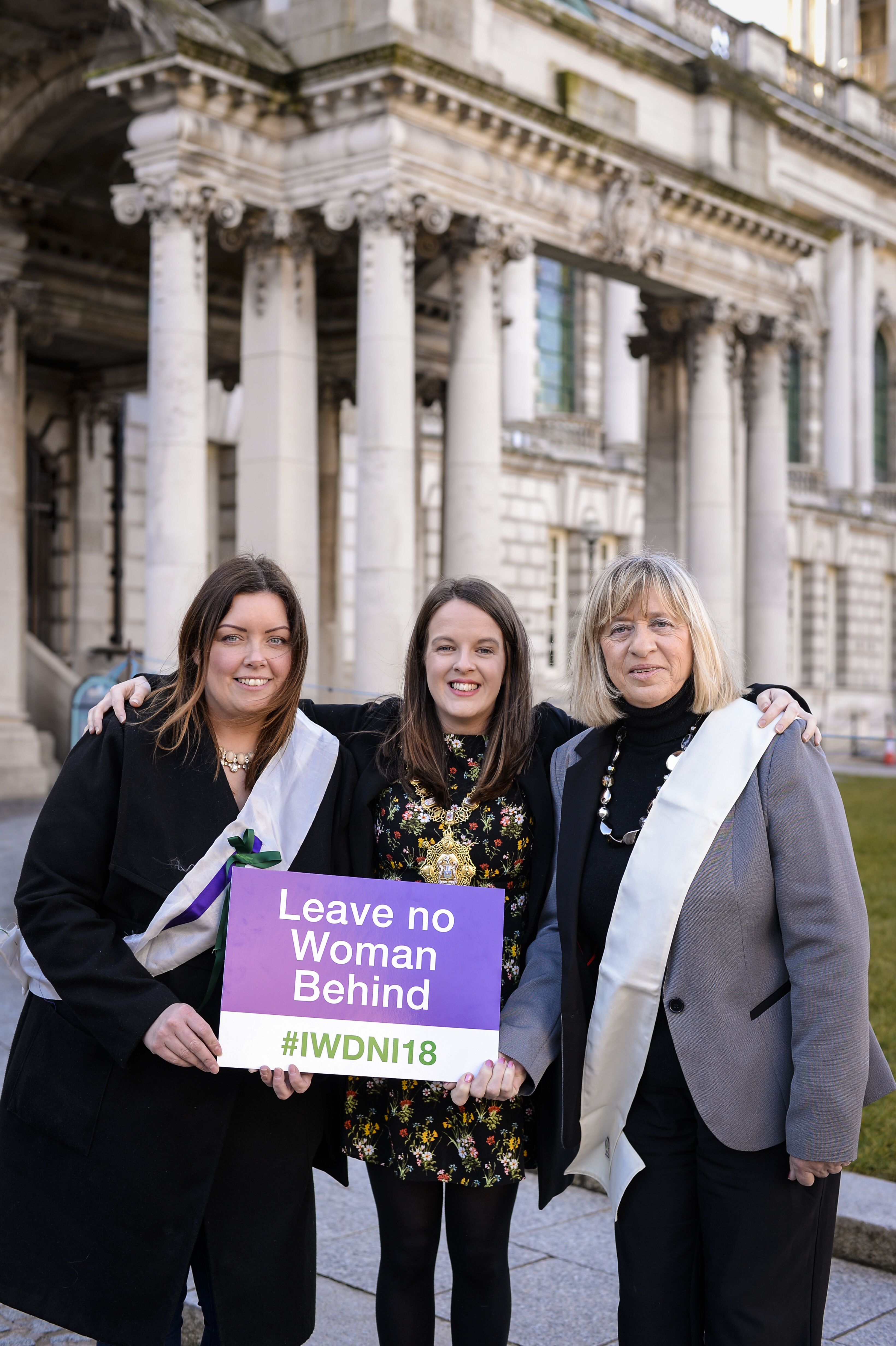 IWD organisers vow 'No Woman Left Behind' in fight for equality