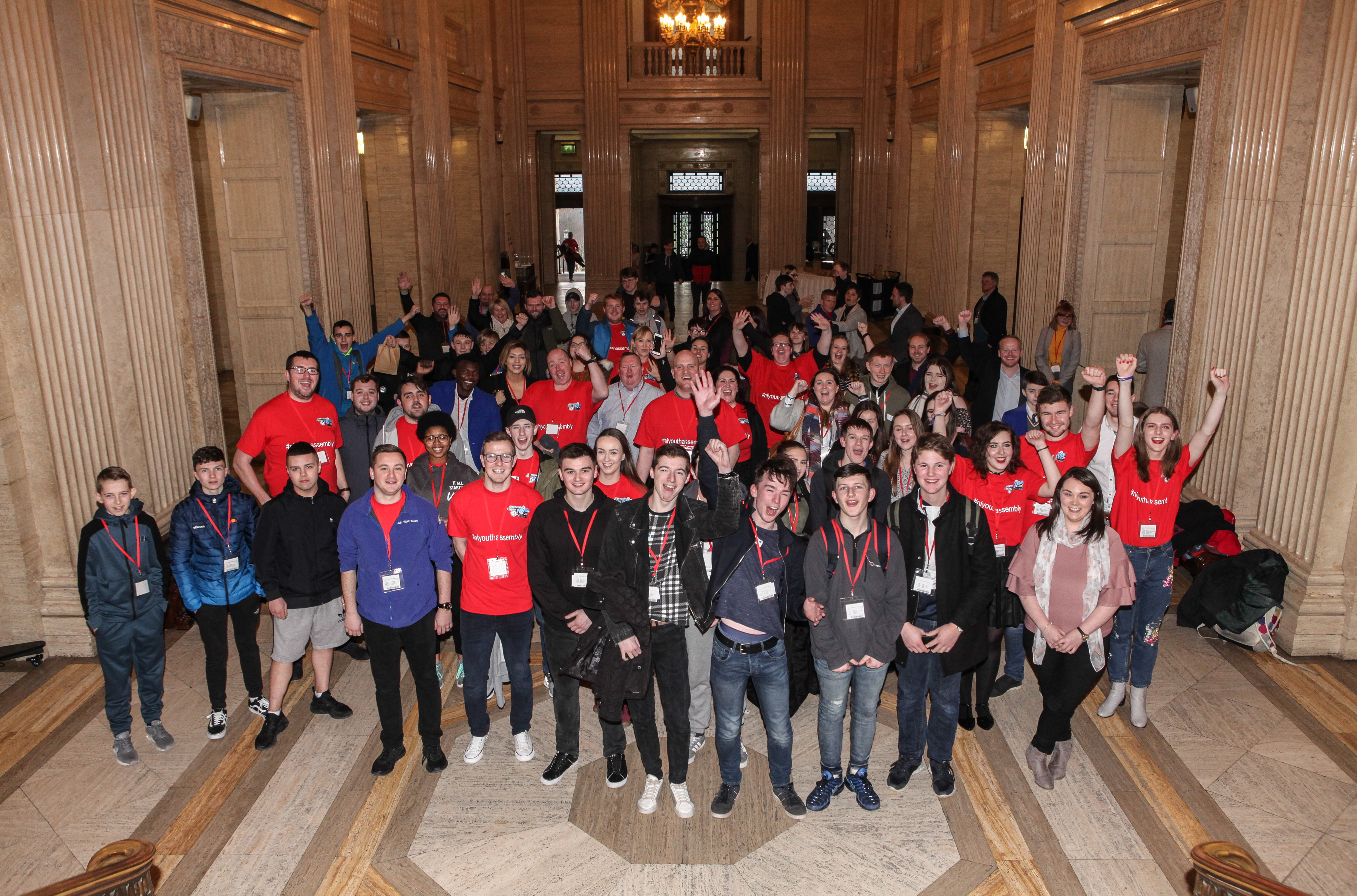 Young people announce intention to set up Youth Assembly