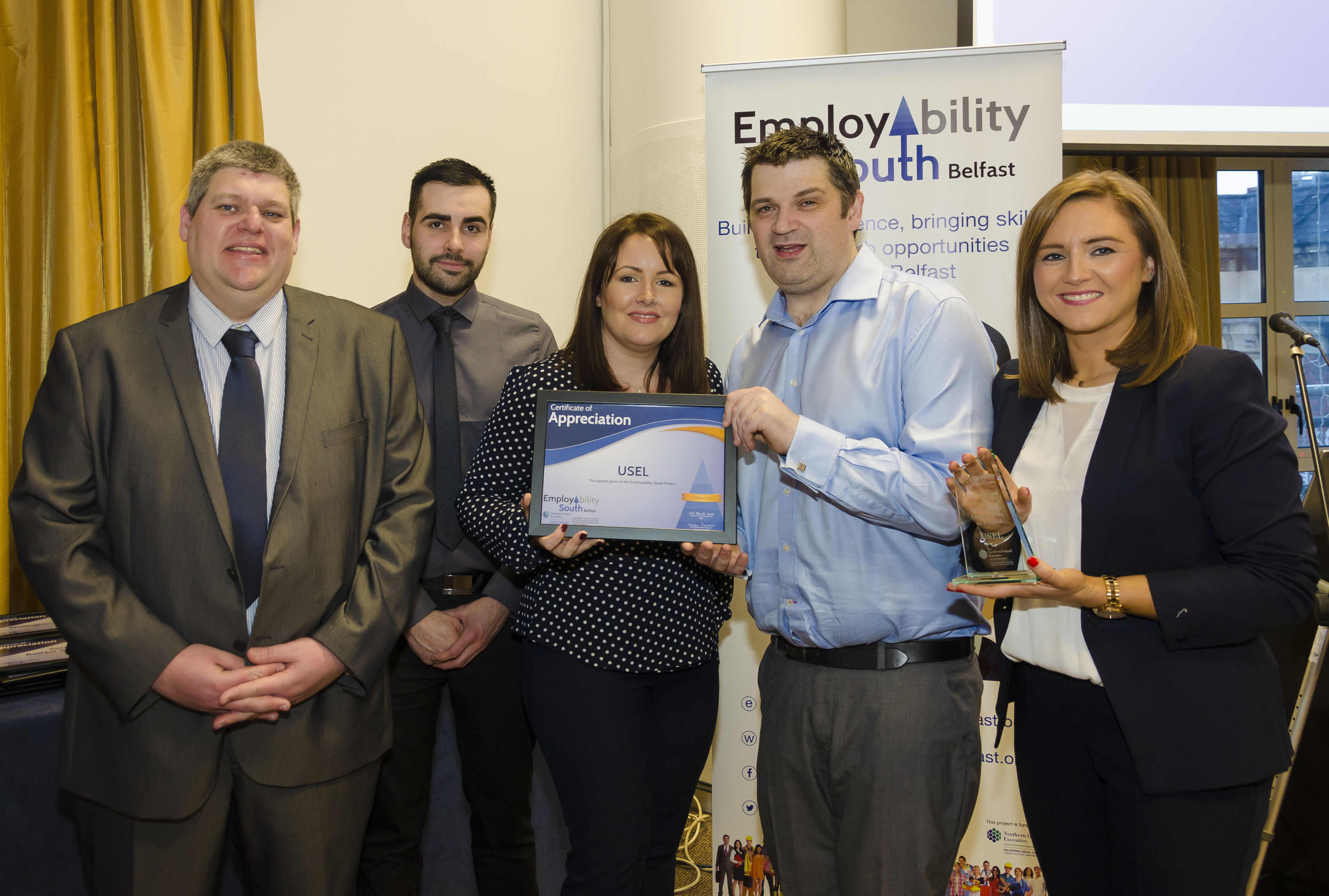 South Belfast employment project creates 120 jobs for long term unemployed