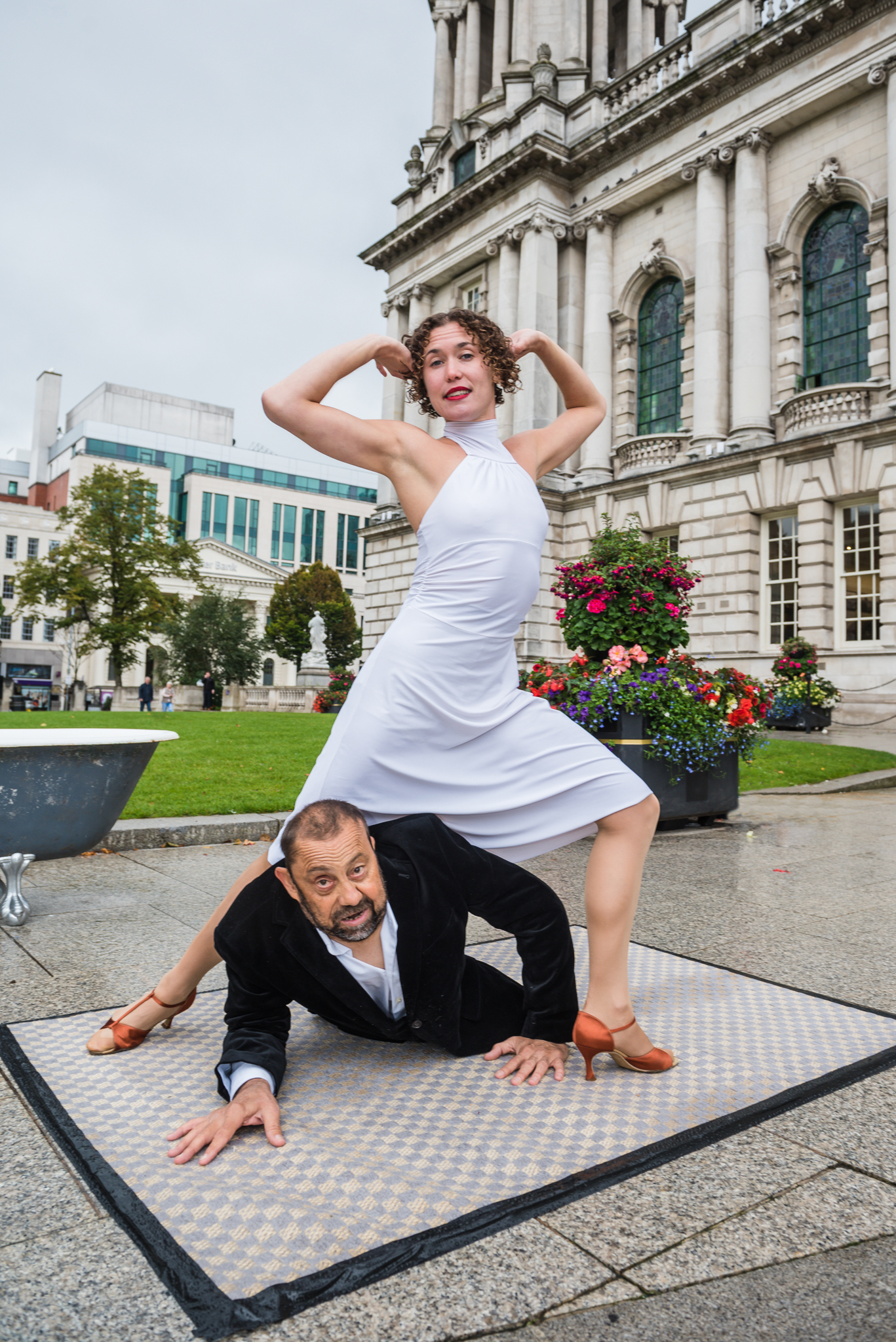 Bounce Arts Festival launched in style at Belfast City Hall