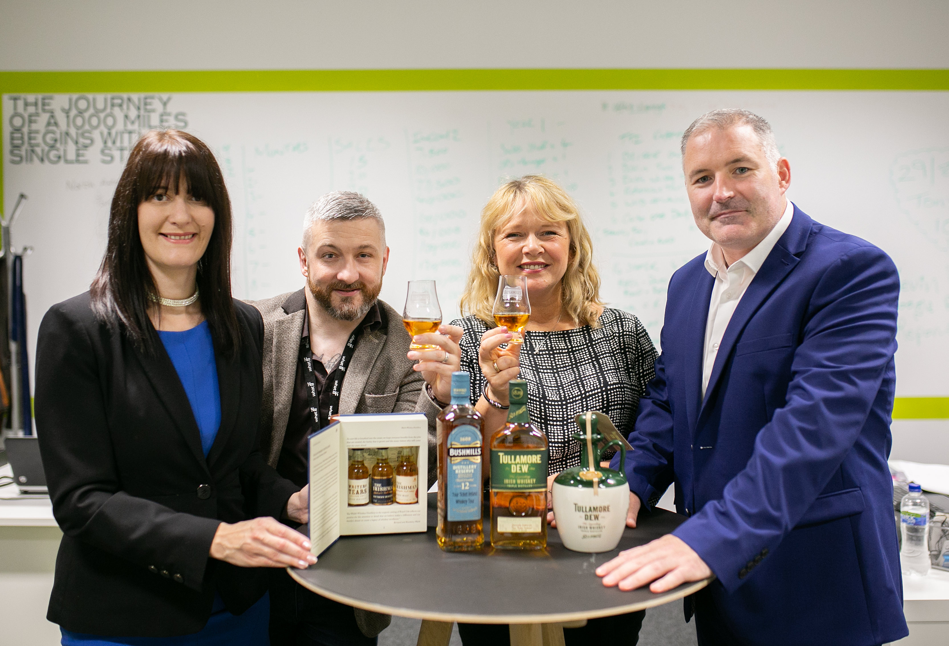 West Belfast men start new tourism business