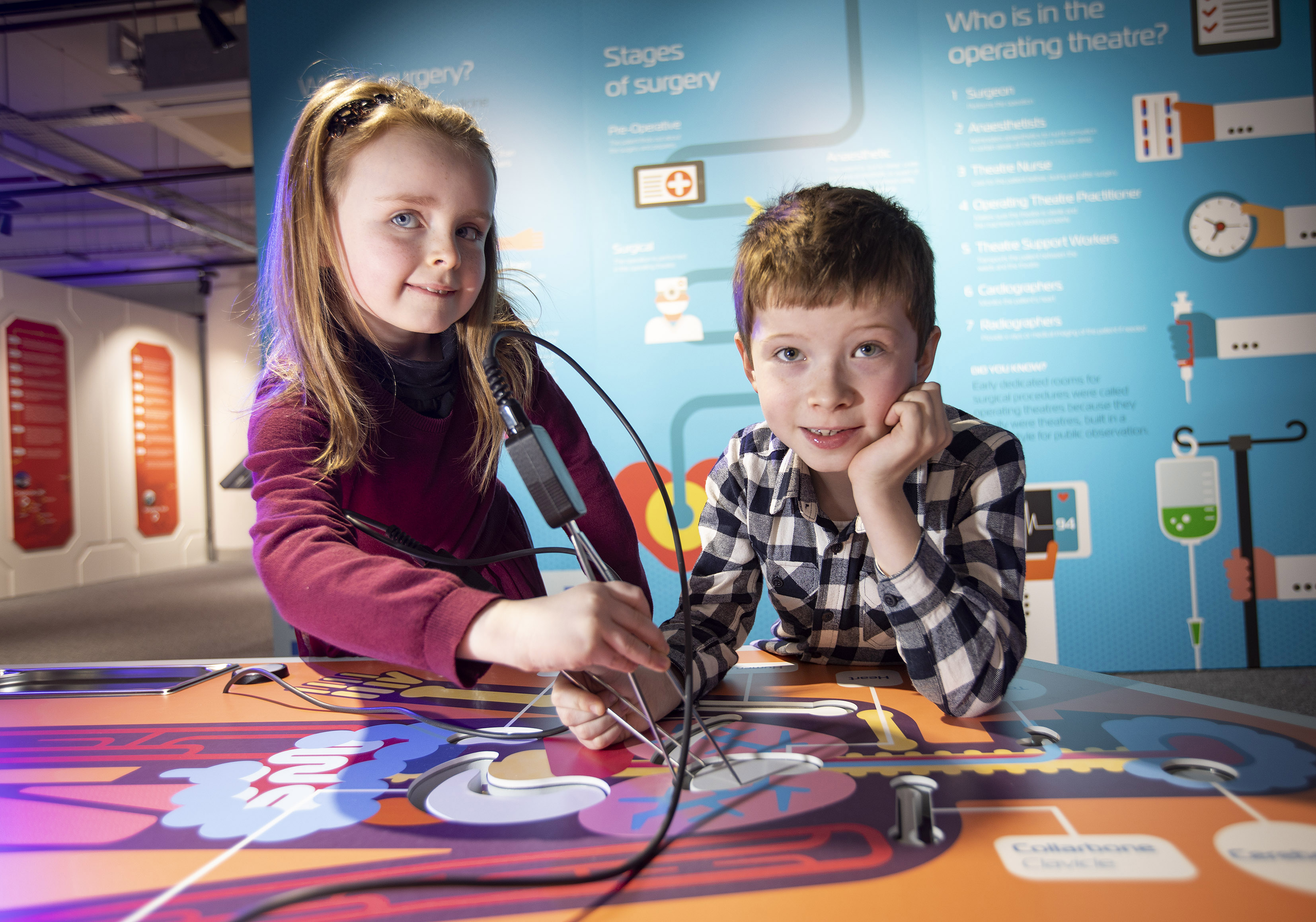 Innovative new interactive medical exhibition zone MED-Lab opens at W5