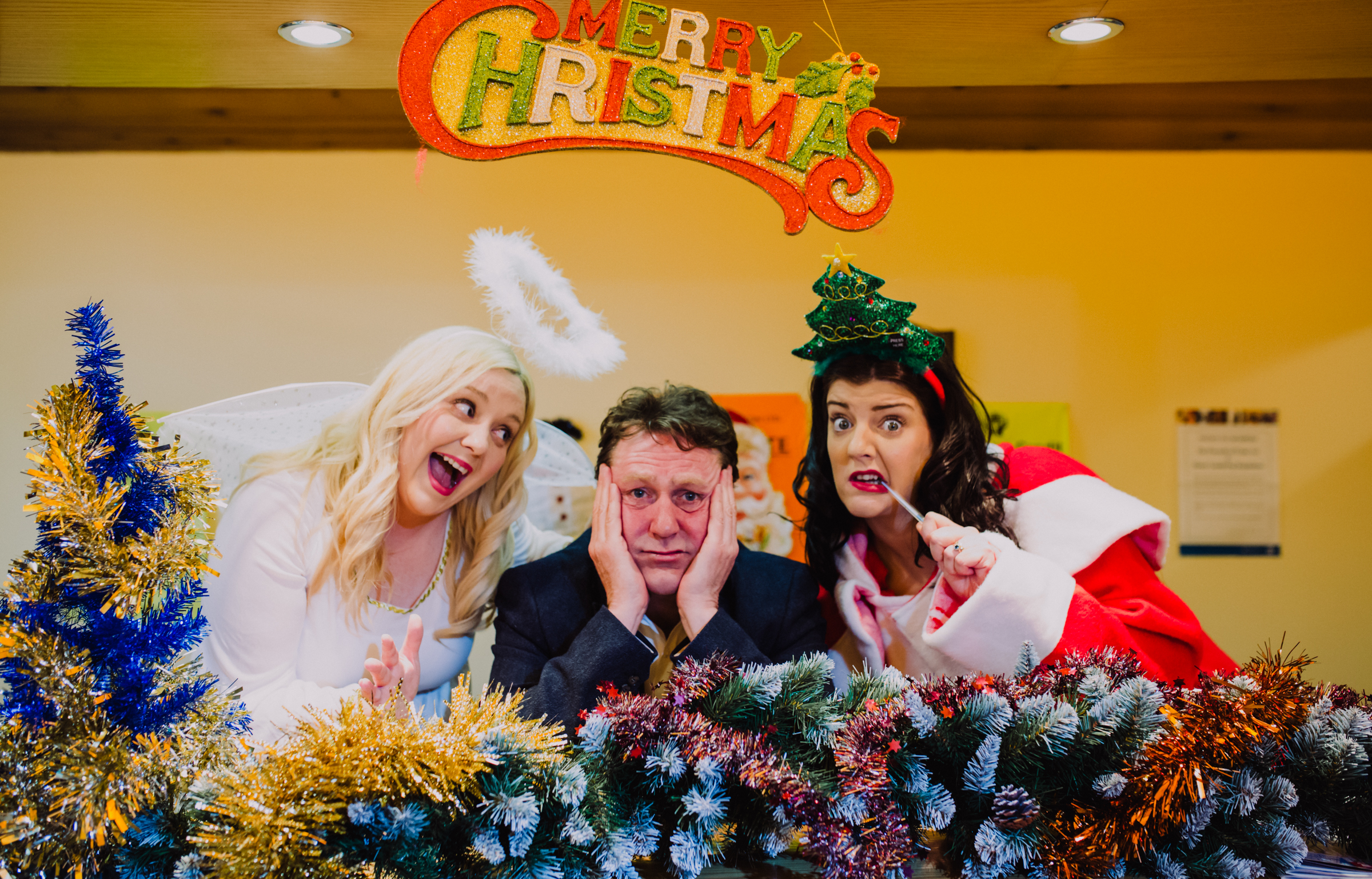 Comedy duo celebrate 'Wonderful Wee Christmas' at the Mill