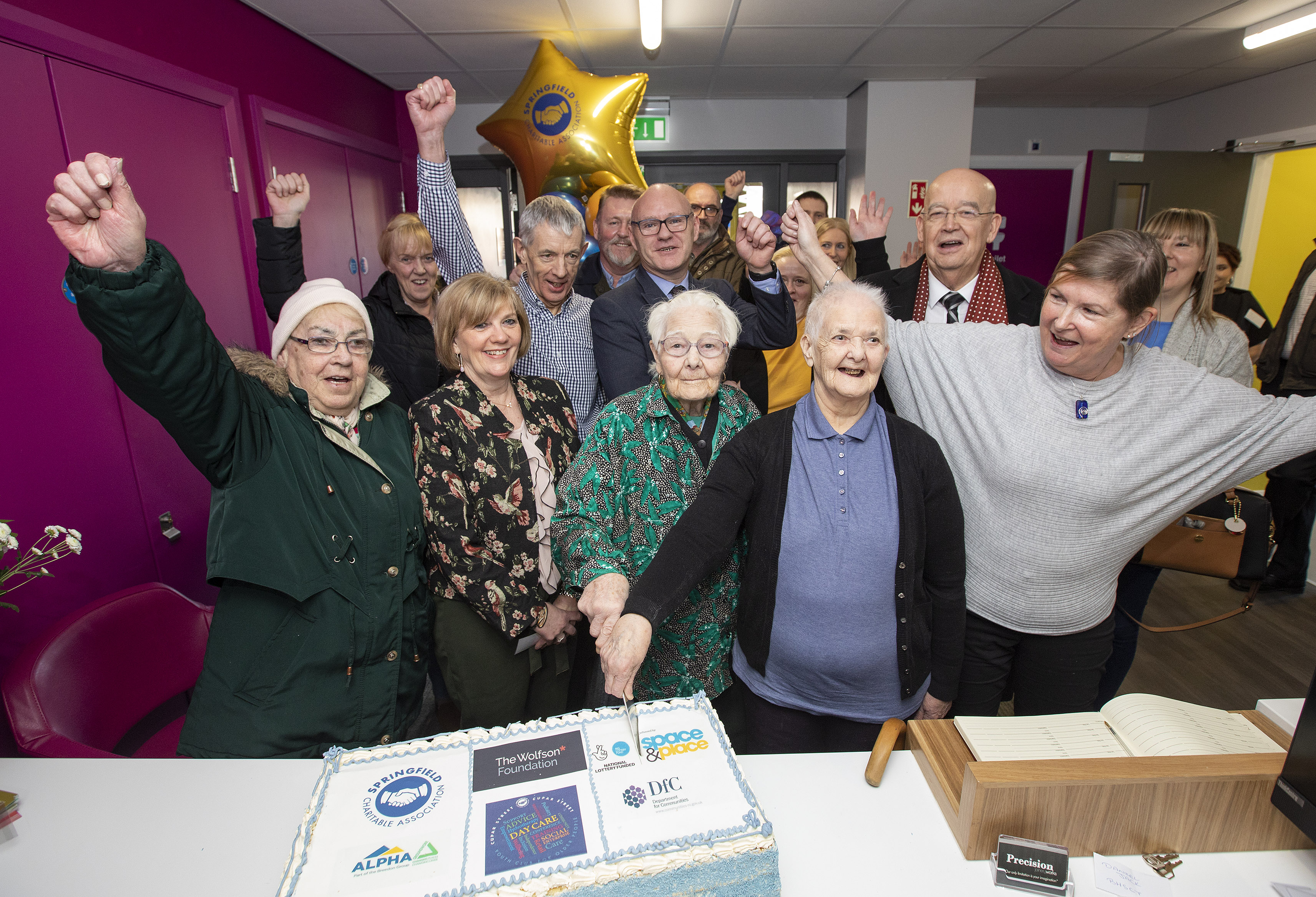 Youth Club for Older People opens in West Belfast