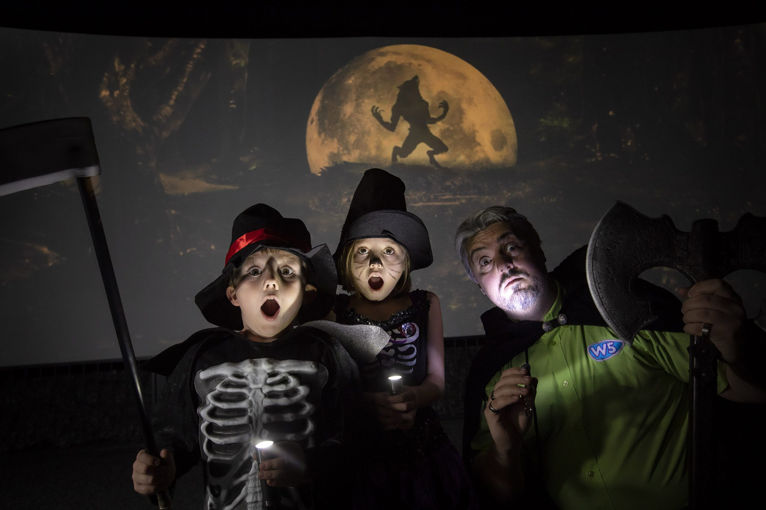 Tales of Ghosts and Ghouls at W5's AMAZE experience