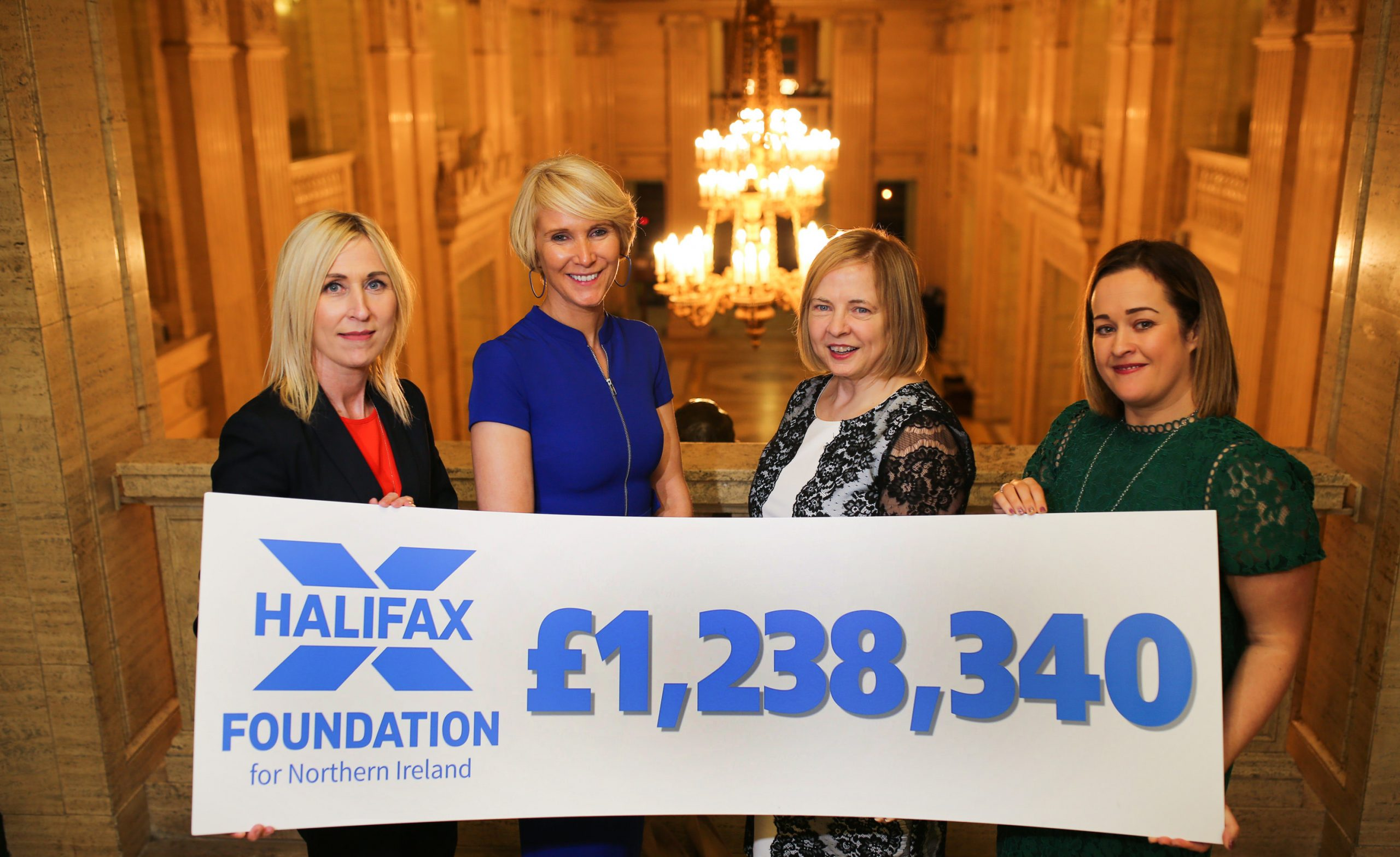 Halifax Foundation for Northern Ireland's £1.2m boost to charities