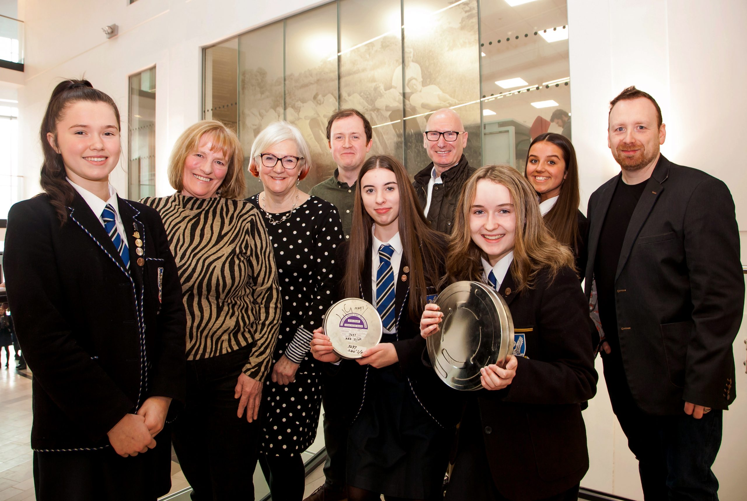 Schoolchildren witness the legacy of the Troubles through the lens of film