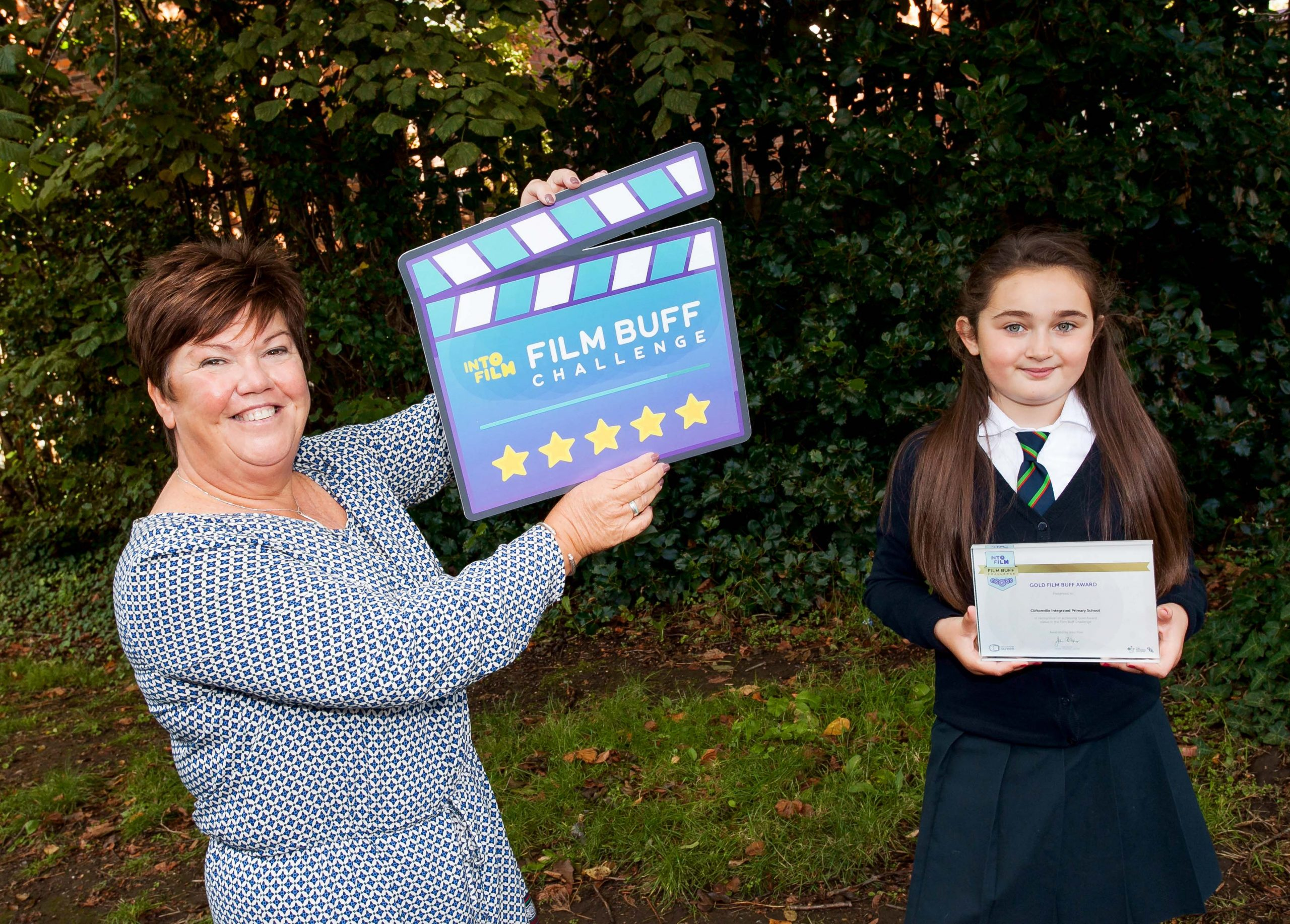 Children encouraged to take the Film Buff Challenge!